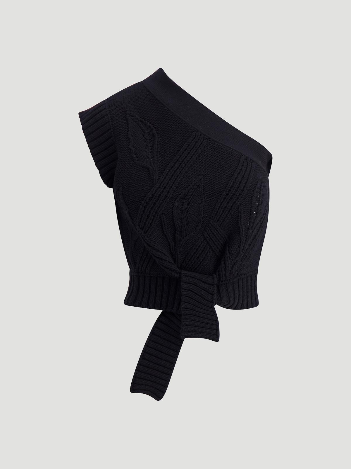 Beagle Knit Vest  Black 4