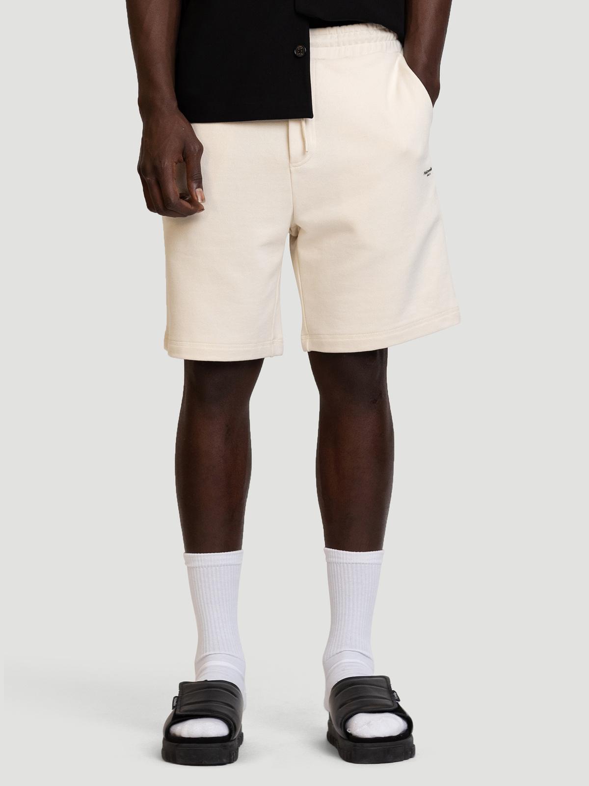 M. Oslo Shorts Ecru 2