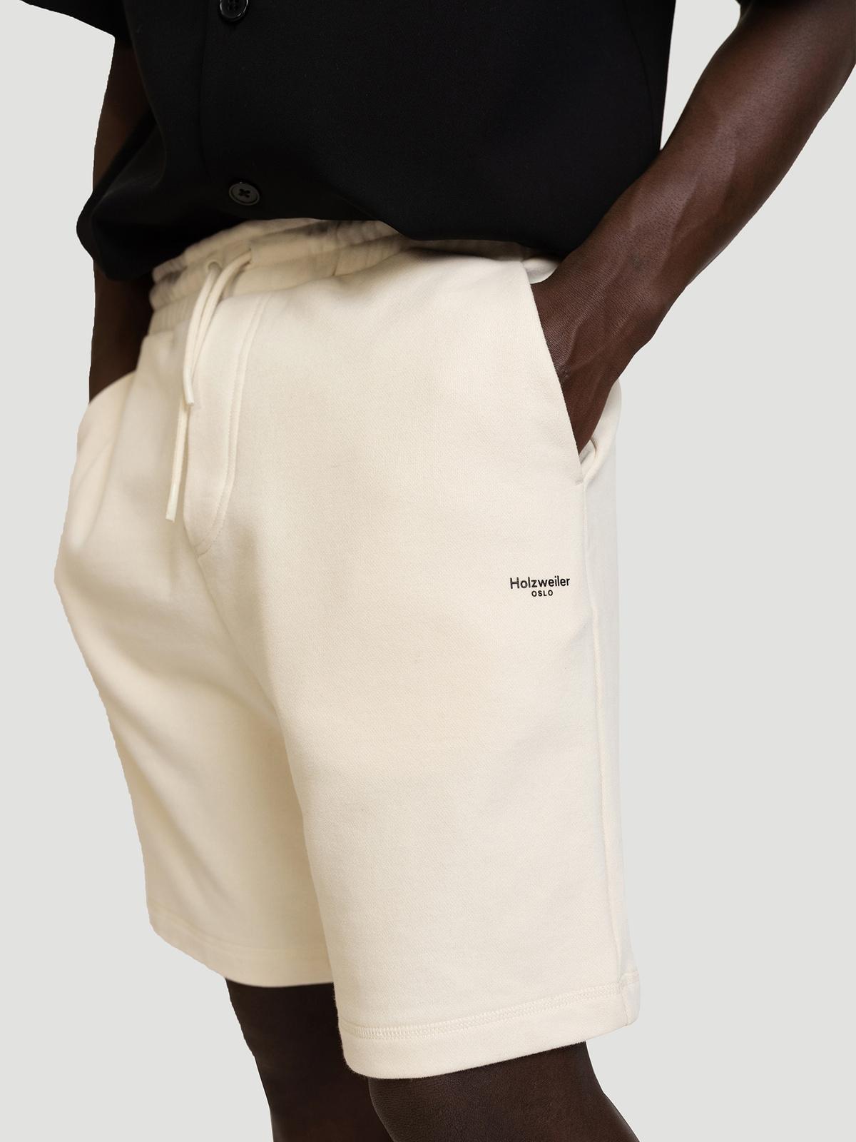 M. Oslo Shorts Ecru 1