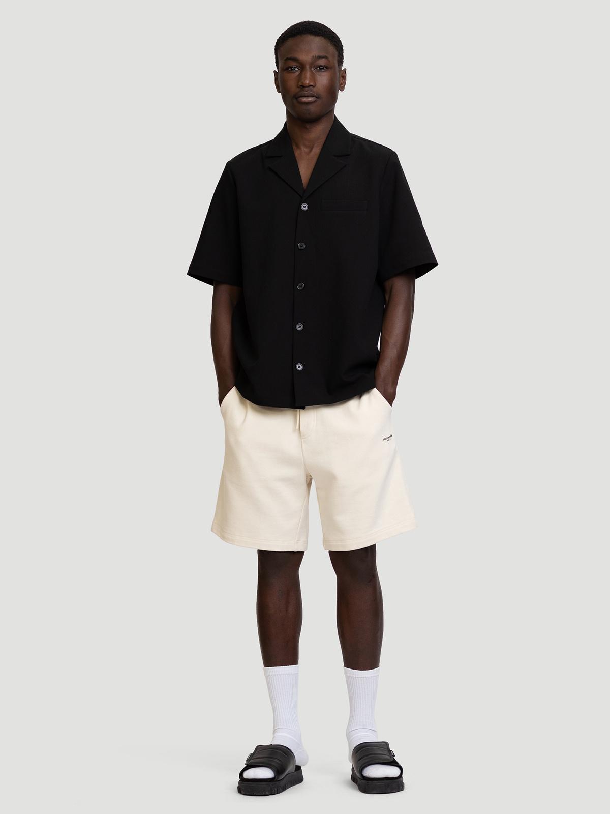 M. Oslo Shorts Ecru 0