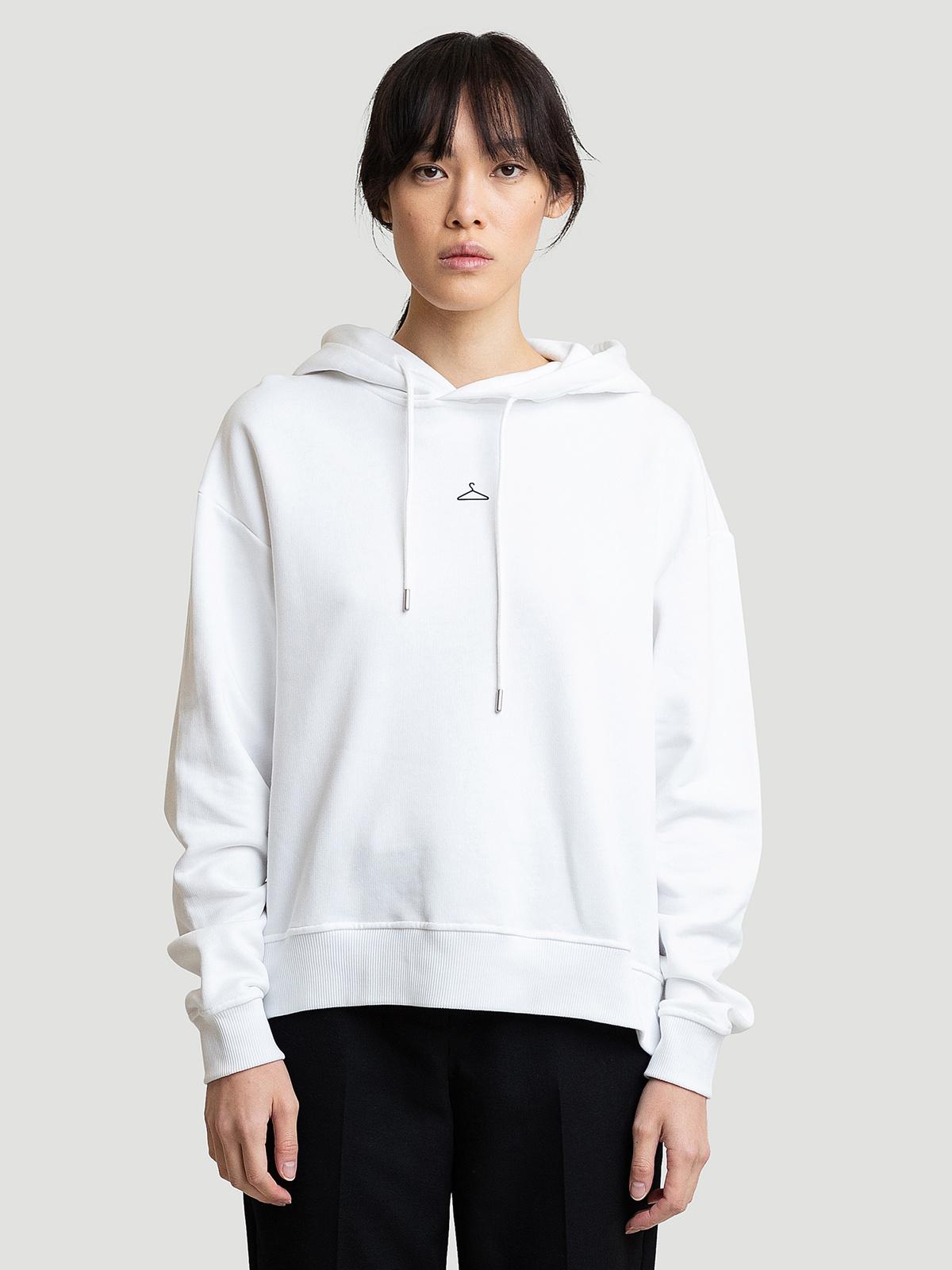 Hanger Hoodie White 5