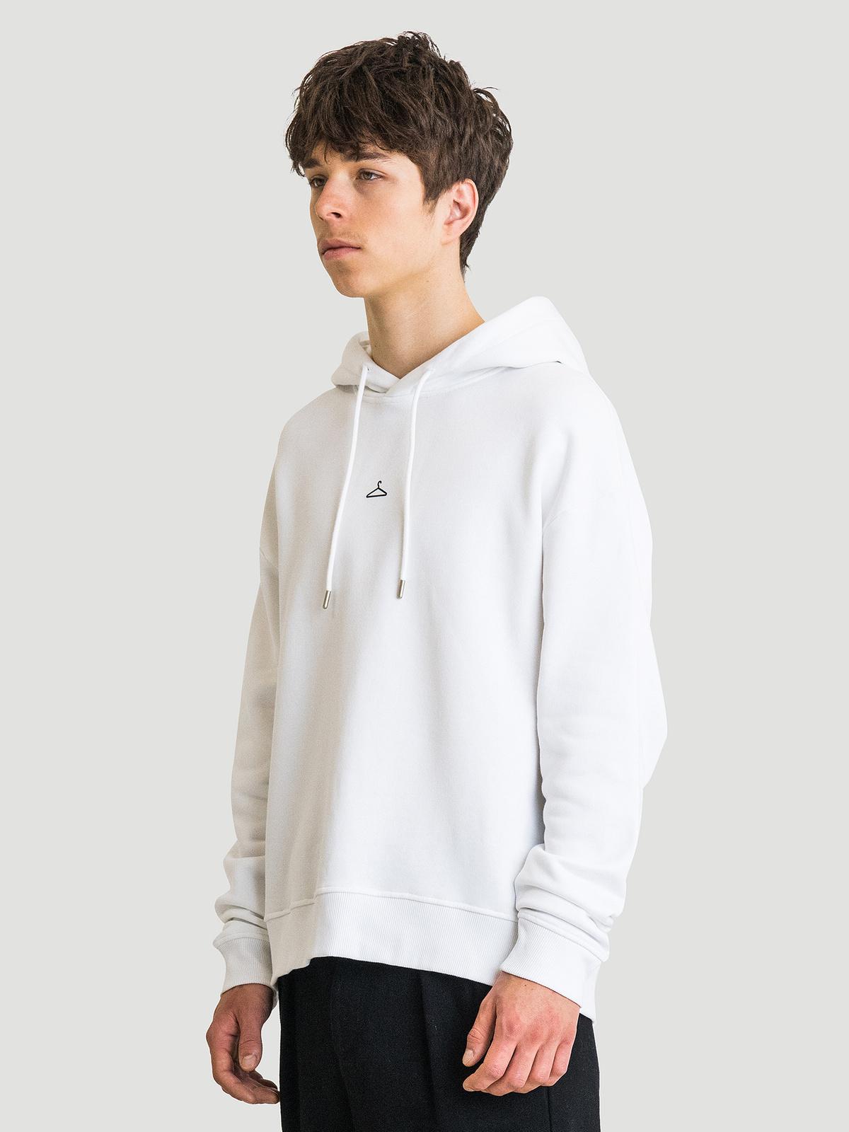Hanger Hoodie White 6