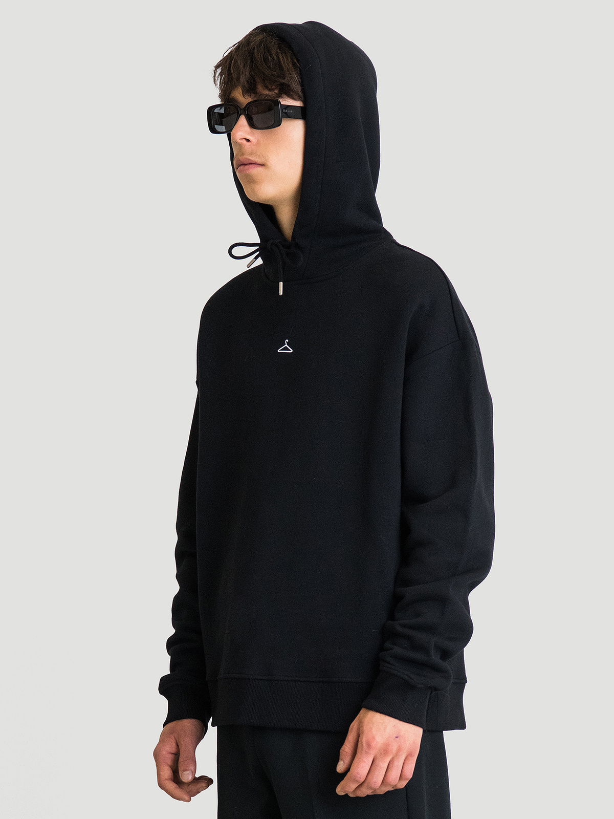 Hanger Hoodie  Black 6