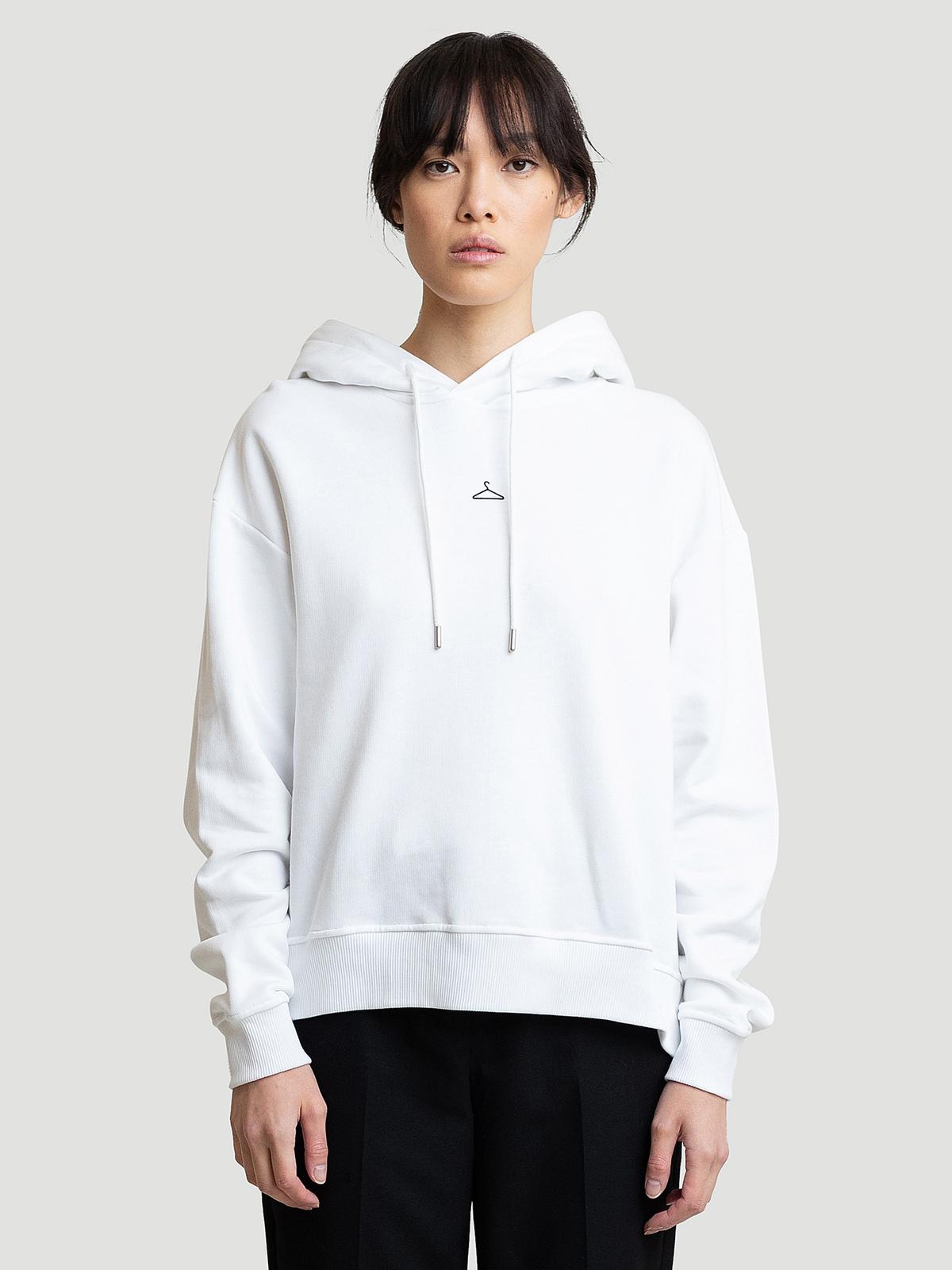 Hanger Hoodie White 0