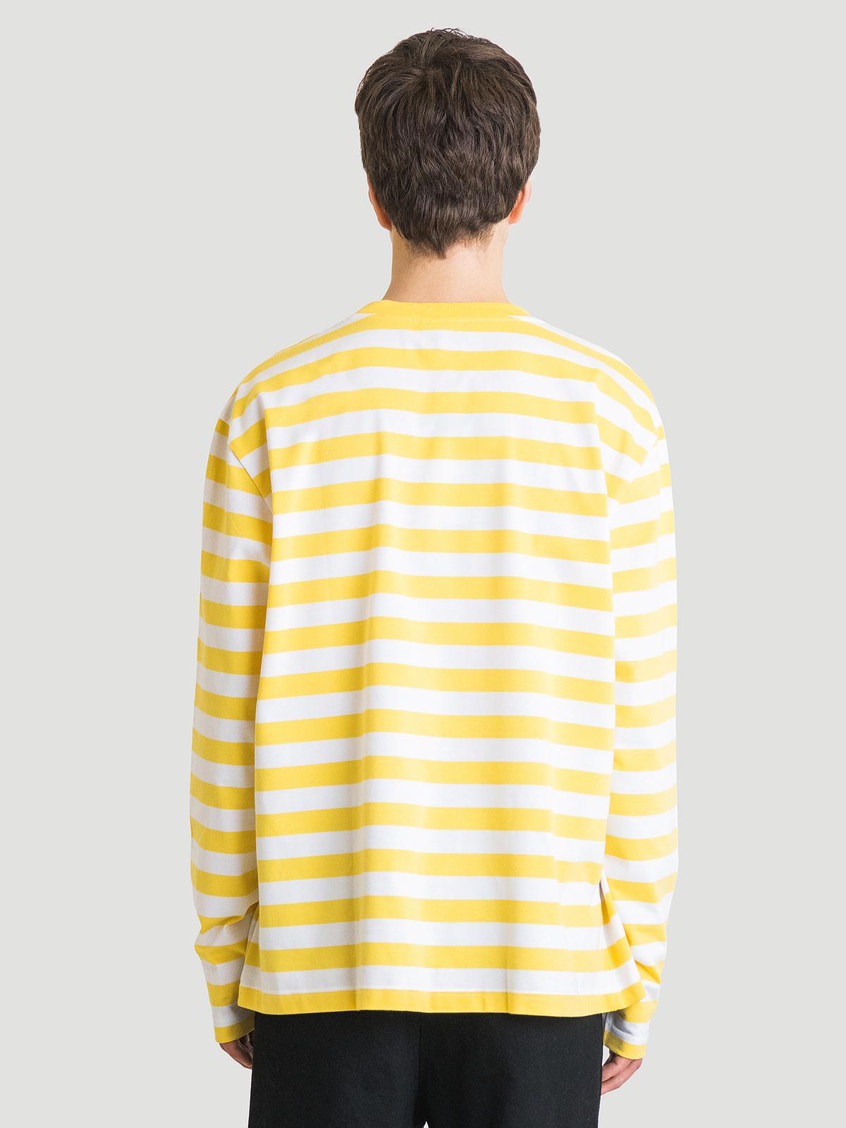 Hanger Striped Longsleeve Yellow White 5