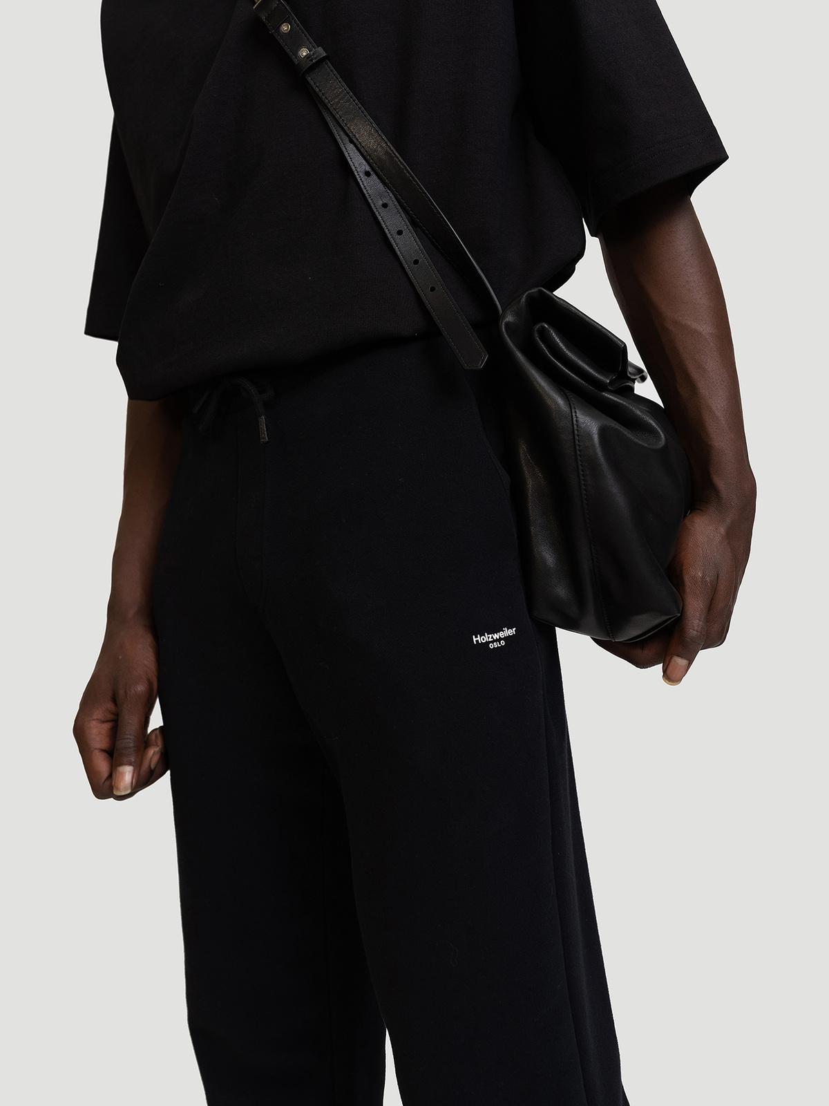 M. Oslo Sweat Trouser Black 7