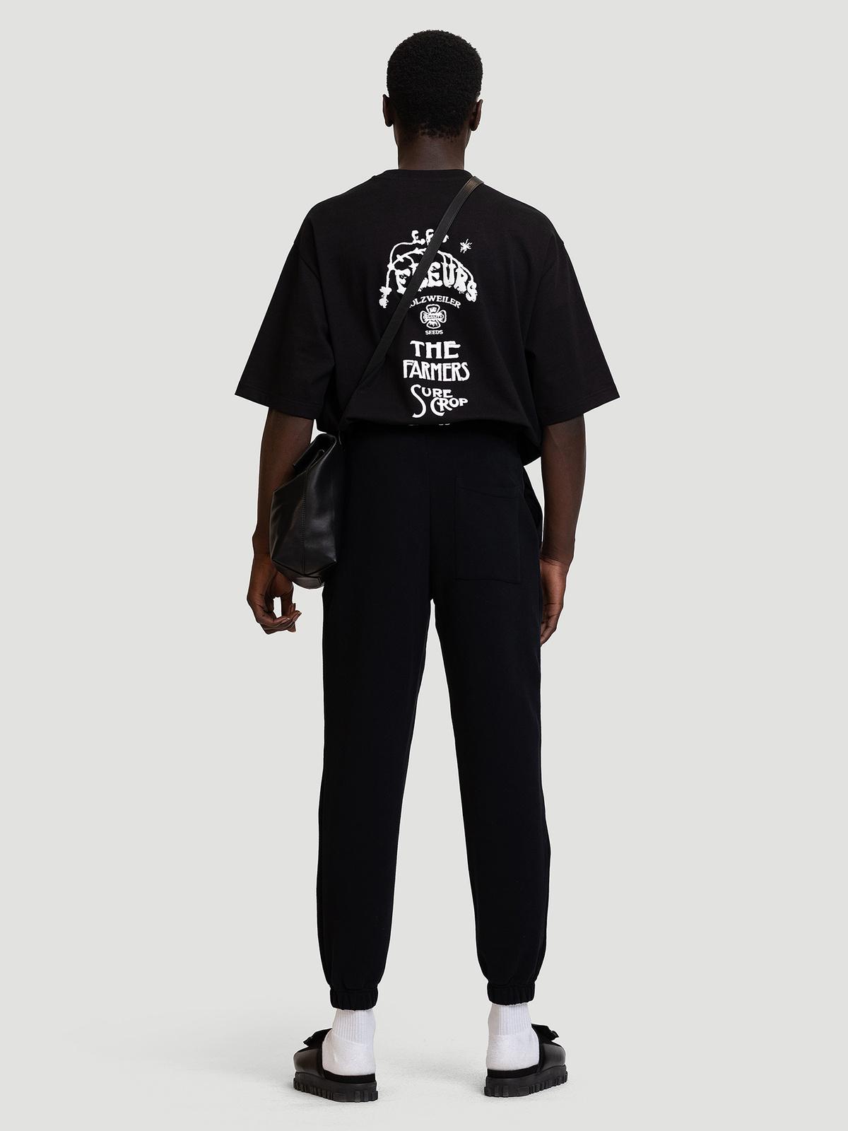 M. Oslo Sweat Trouser Black 2
