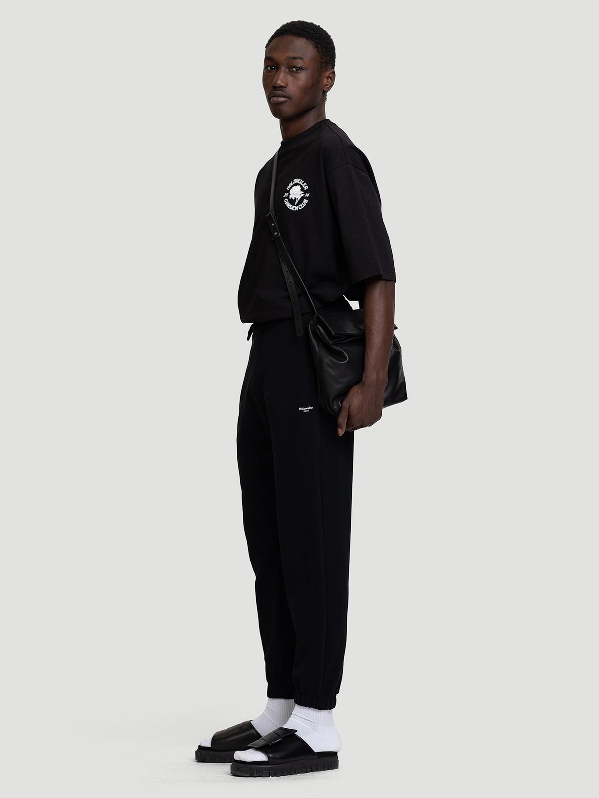 M. Oslo Sweat Trouser Black 8