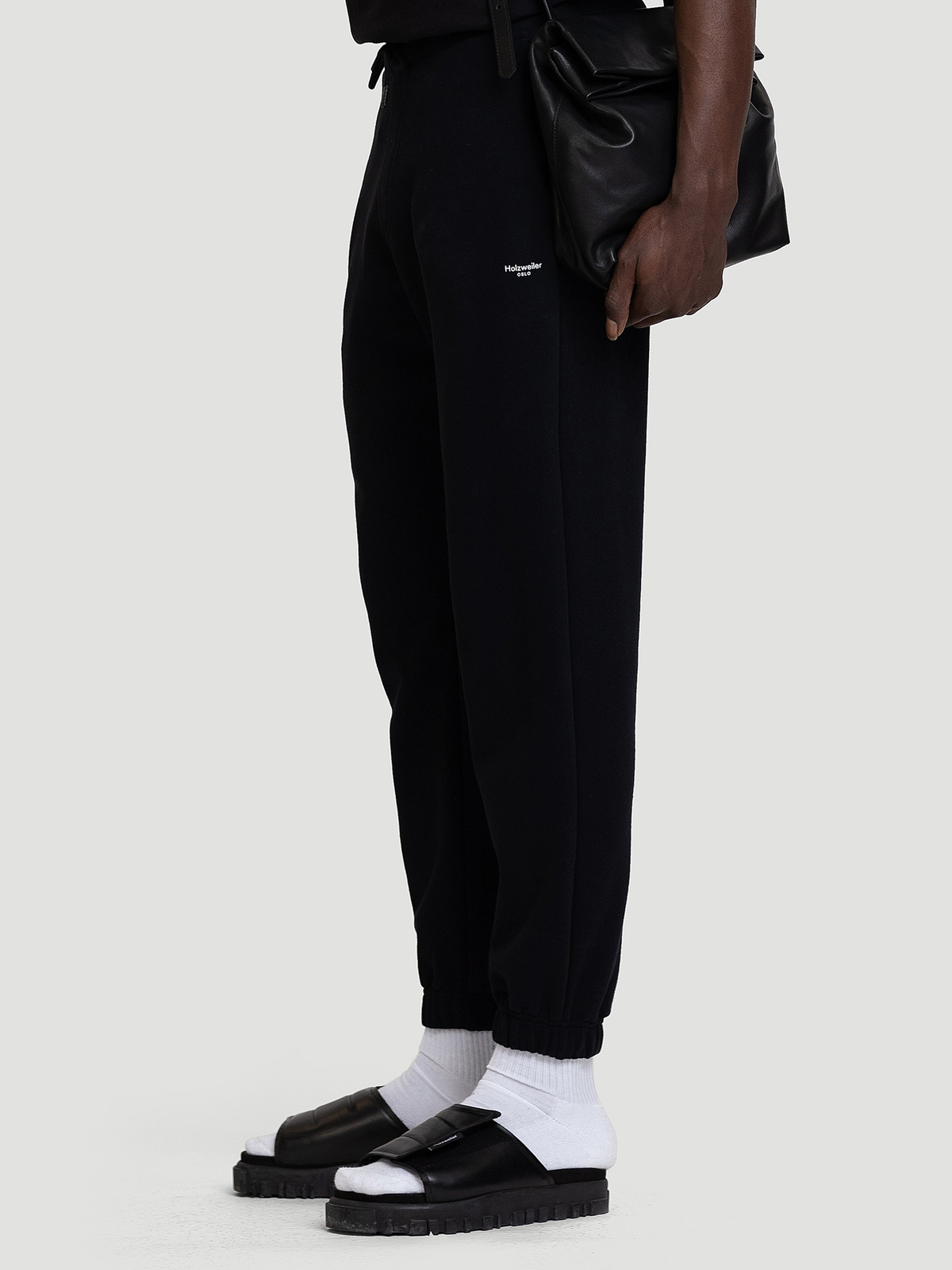 M. Oslo Sweat Trouser Black 1