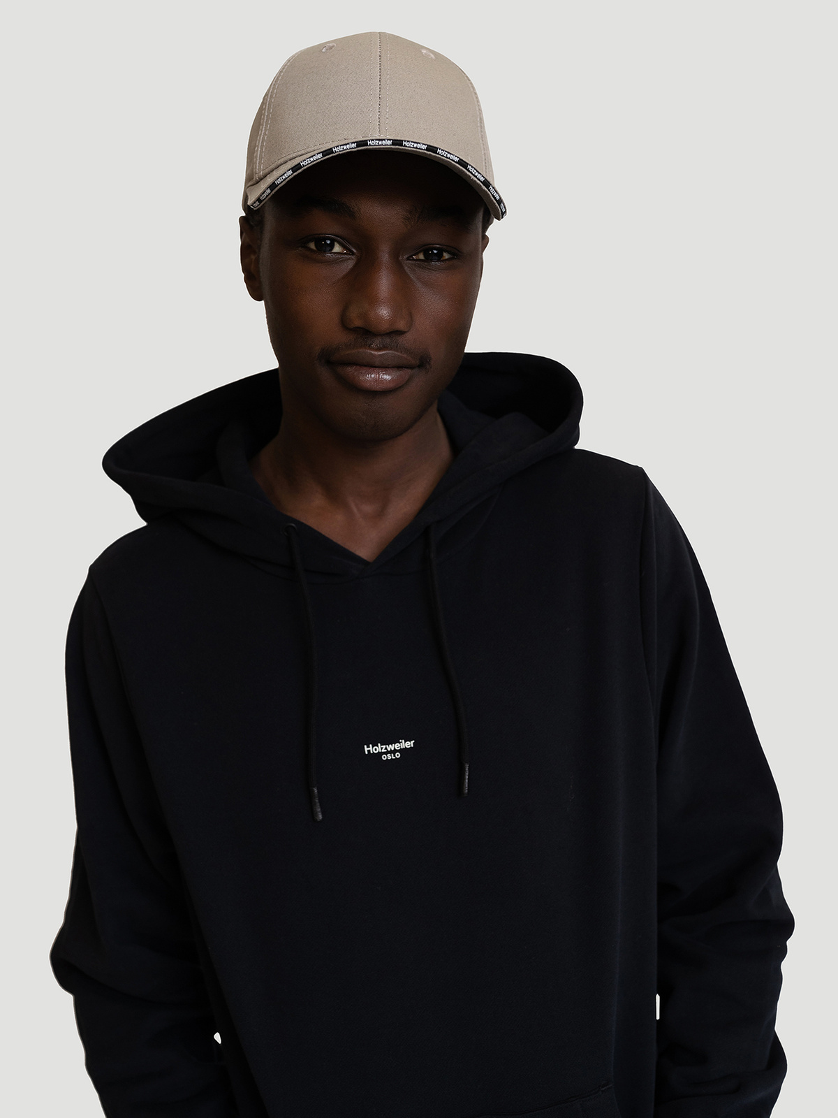 M. Oslo Hoodie Black 1