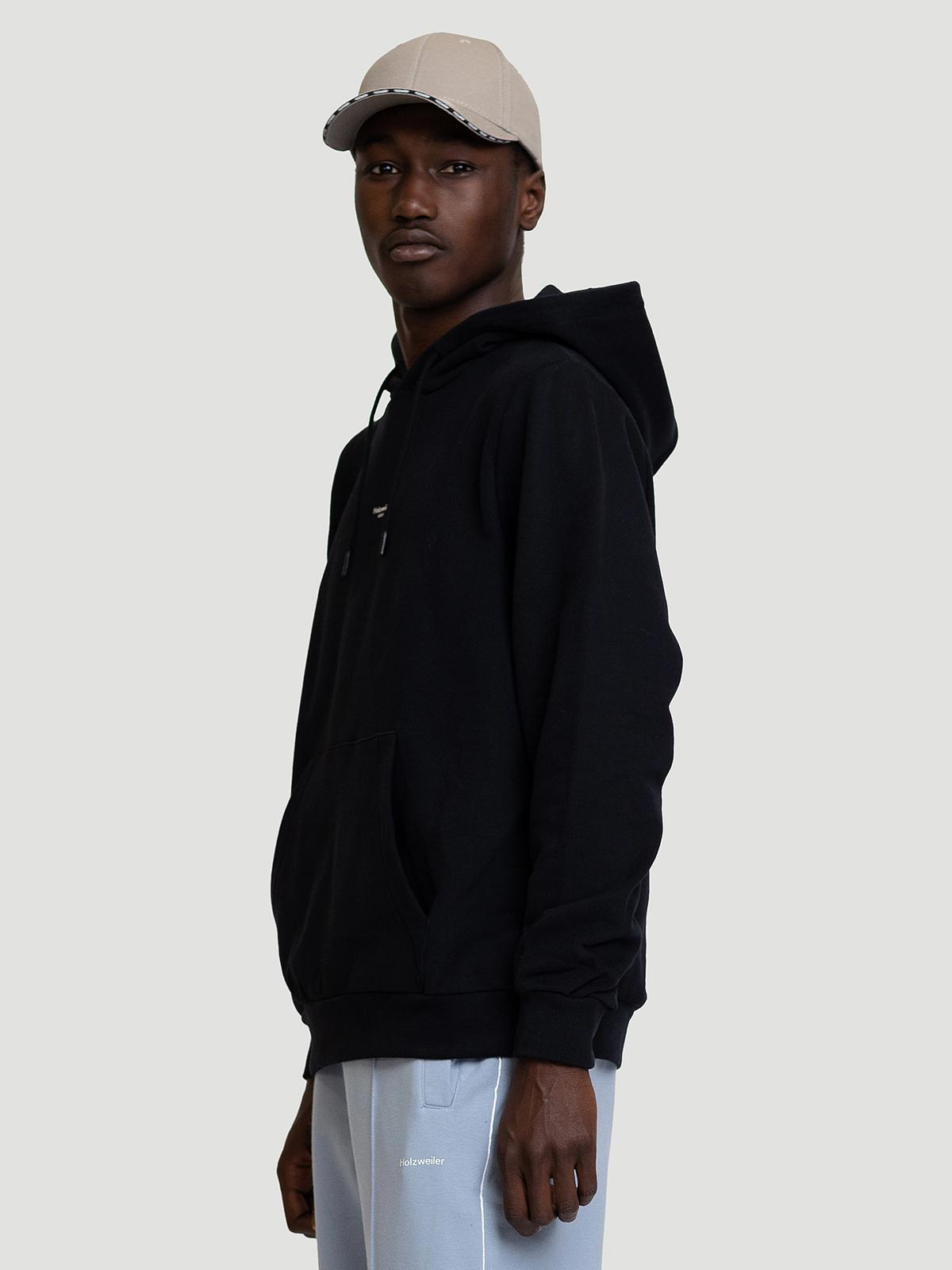 M. Oslo Hoodie Black 3