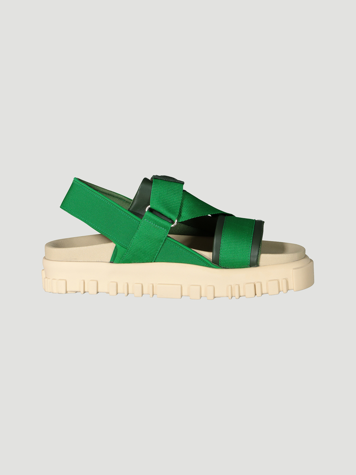 National Sandal Velcro Green 0