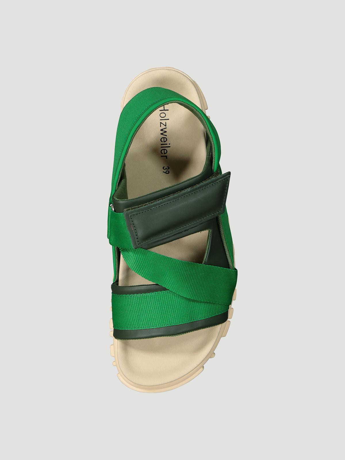 National Sandal Velcro Green 1