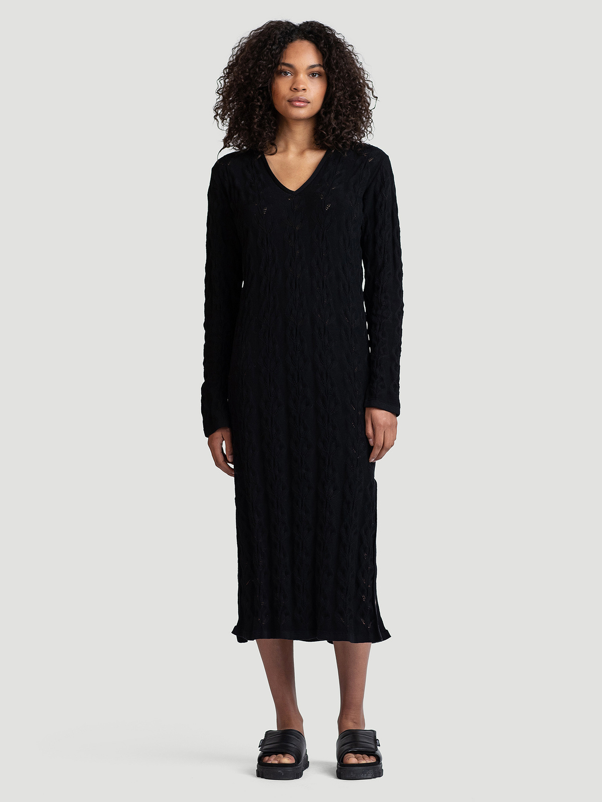 Nim Knit Dress  Black 0