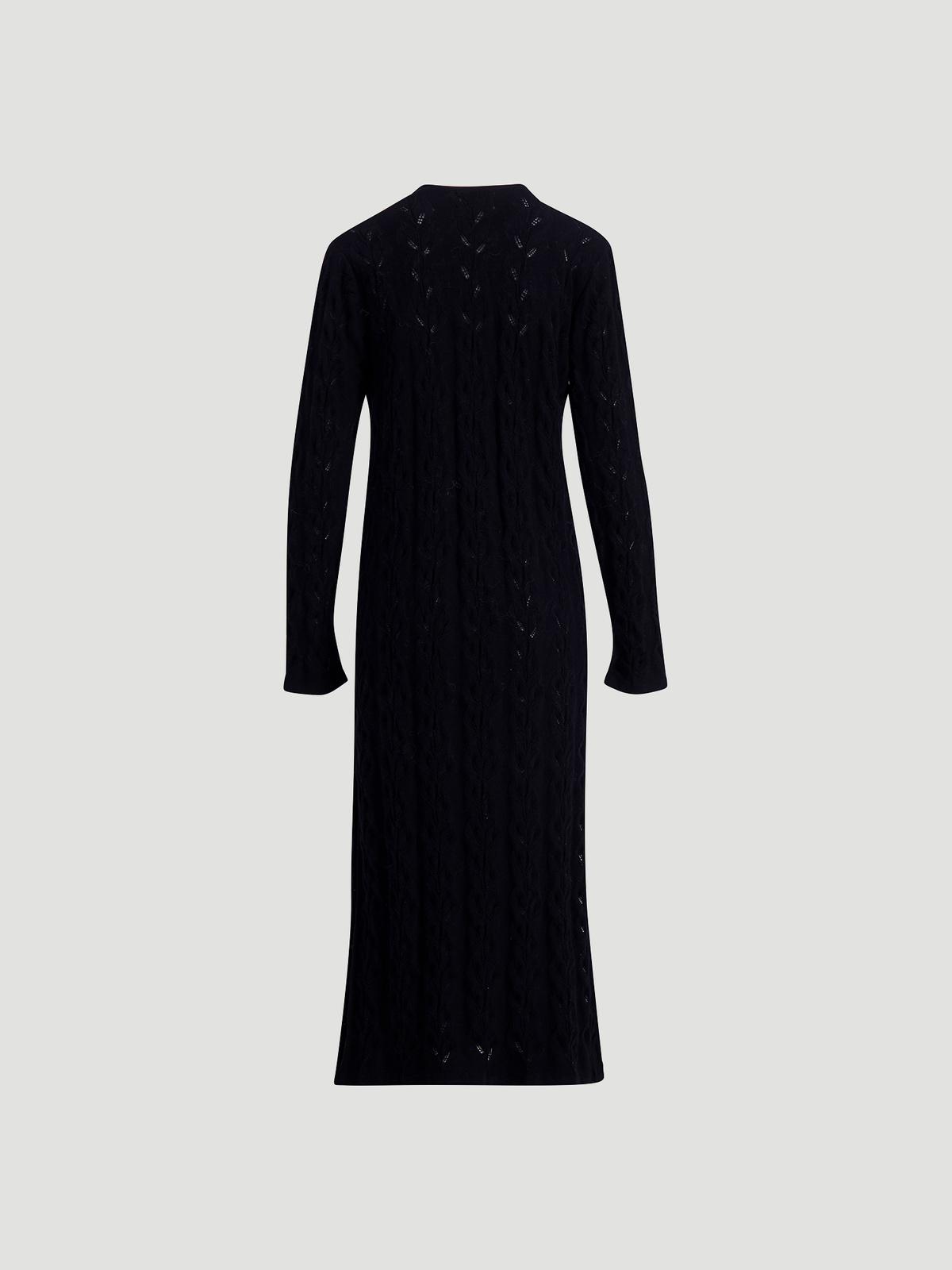 Nim Knit Dress  Black 6
