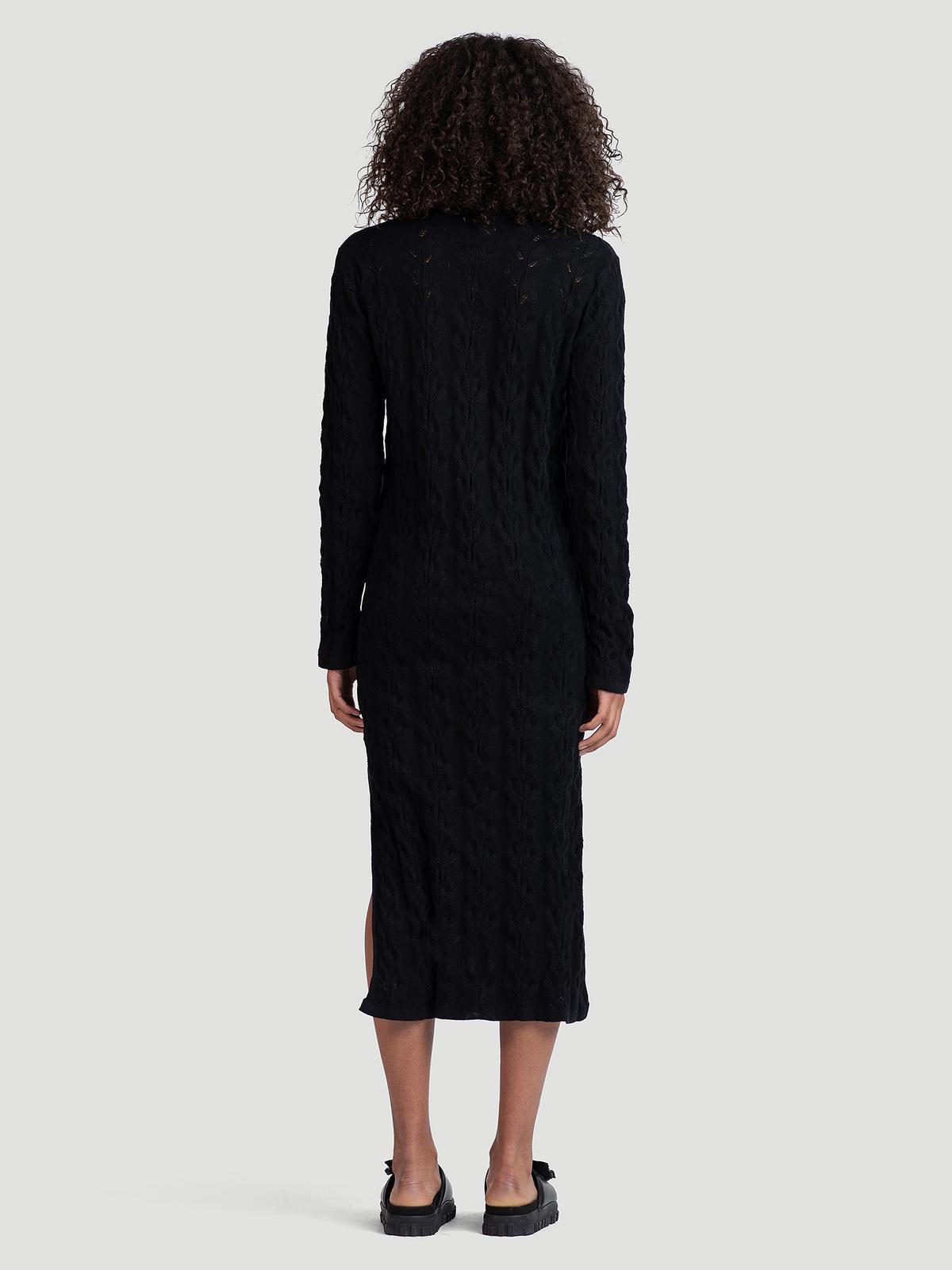 Nim Knit Dress  Black 4