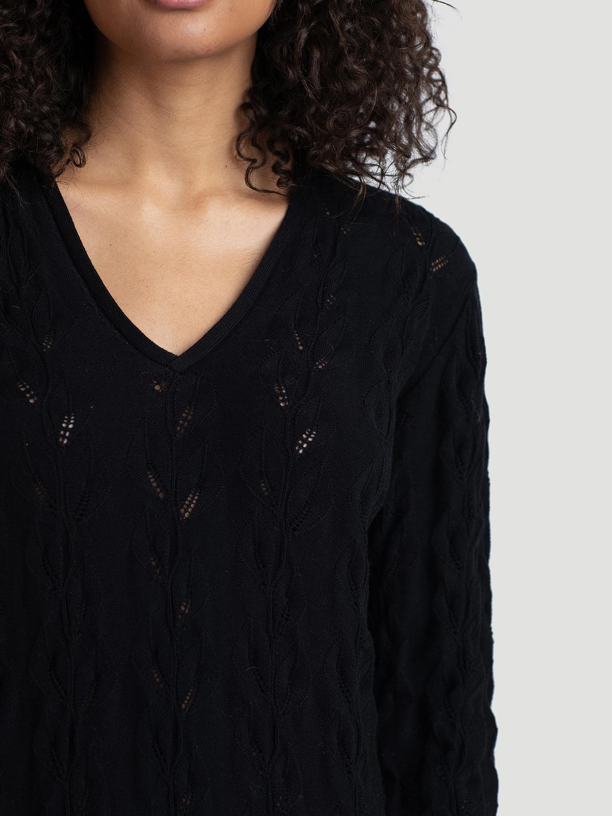 Nim Knit Dress  Black 1