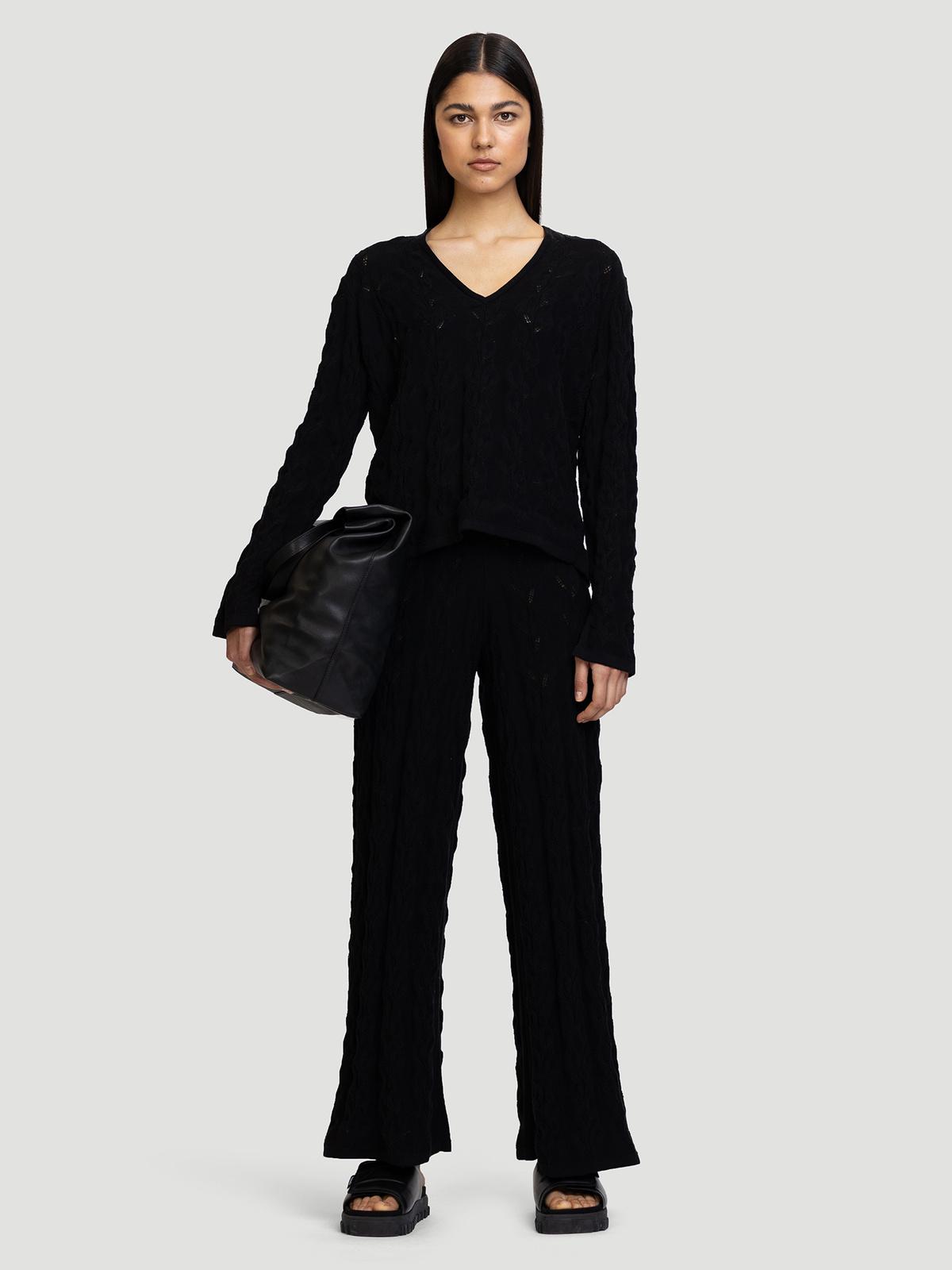 Thiril Knit Trouser Black 1