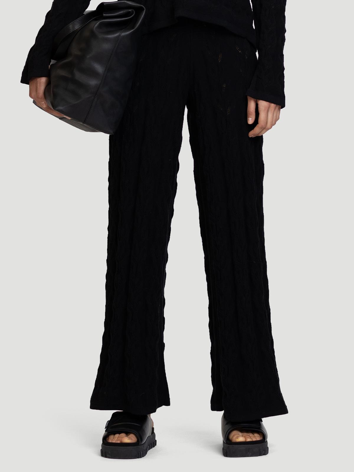 Thiril Knit Trouser Black 0