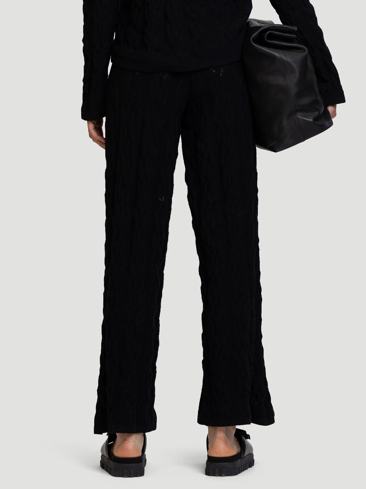 Thiril Knit Trouser Black 4
