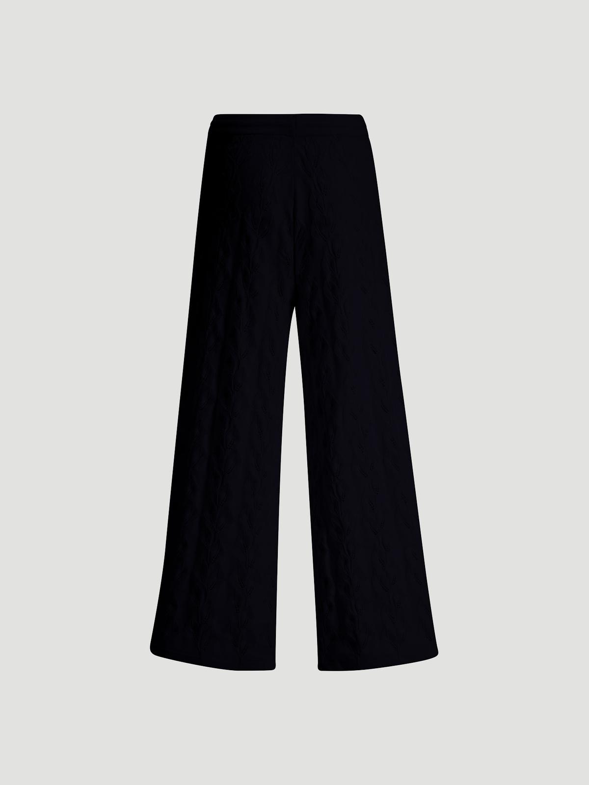 Thiril Knit Trouser Black 6
