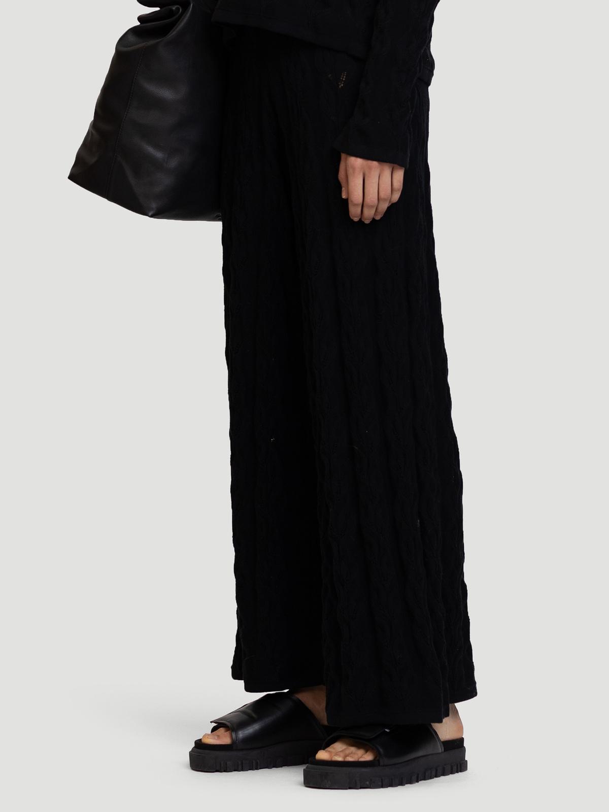 Thiril Knit Trouser Black 2