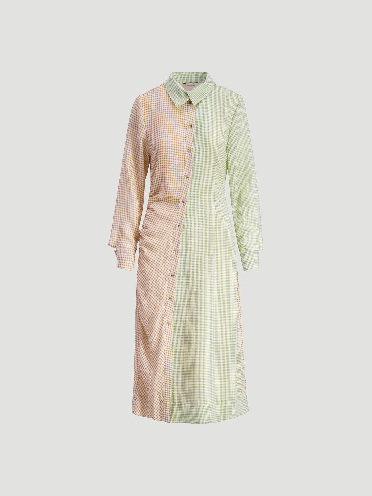 Peppo Dress  Lt. Green mix 4