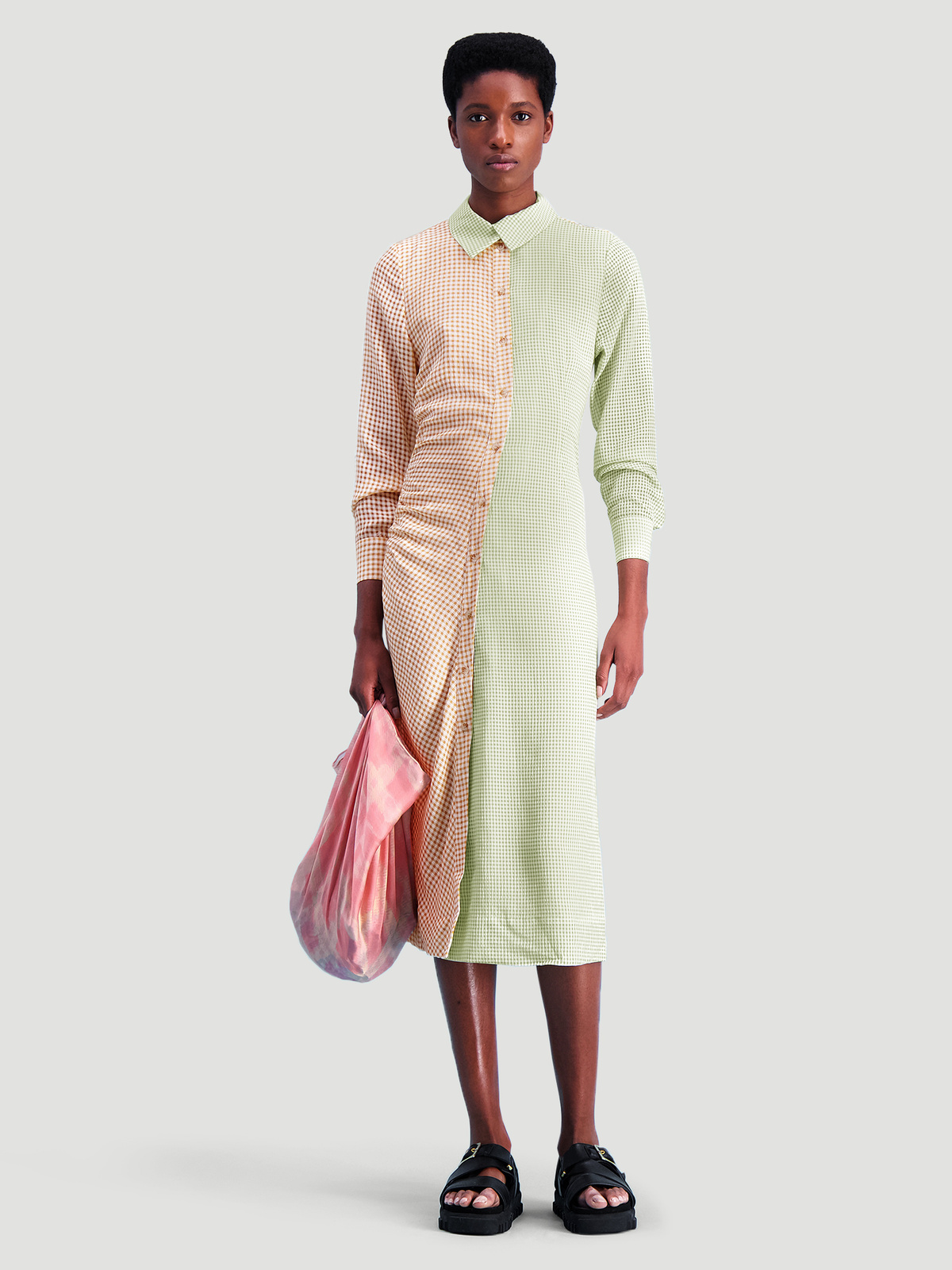 Peppo Dress  Lt. Green mix 0