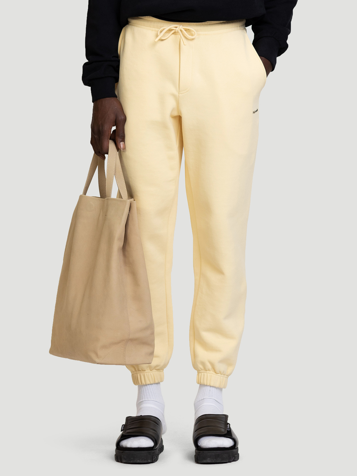 Fleaser Trouser  Lt. Yellow 1