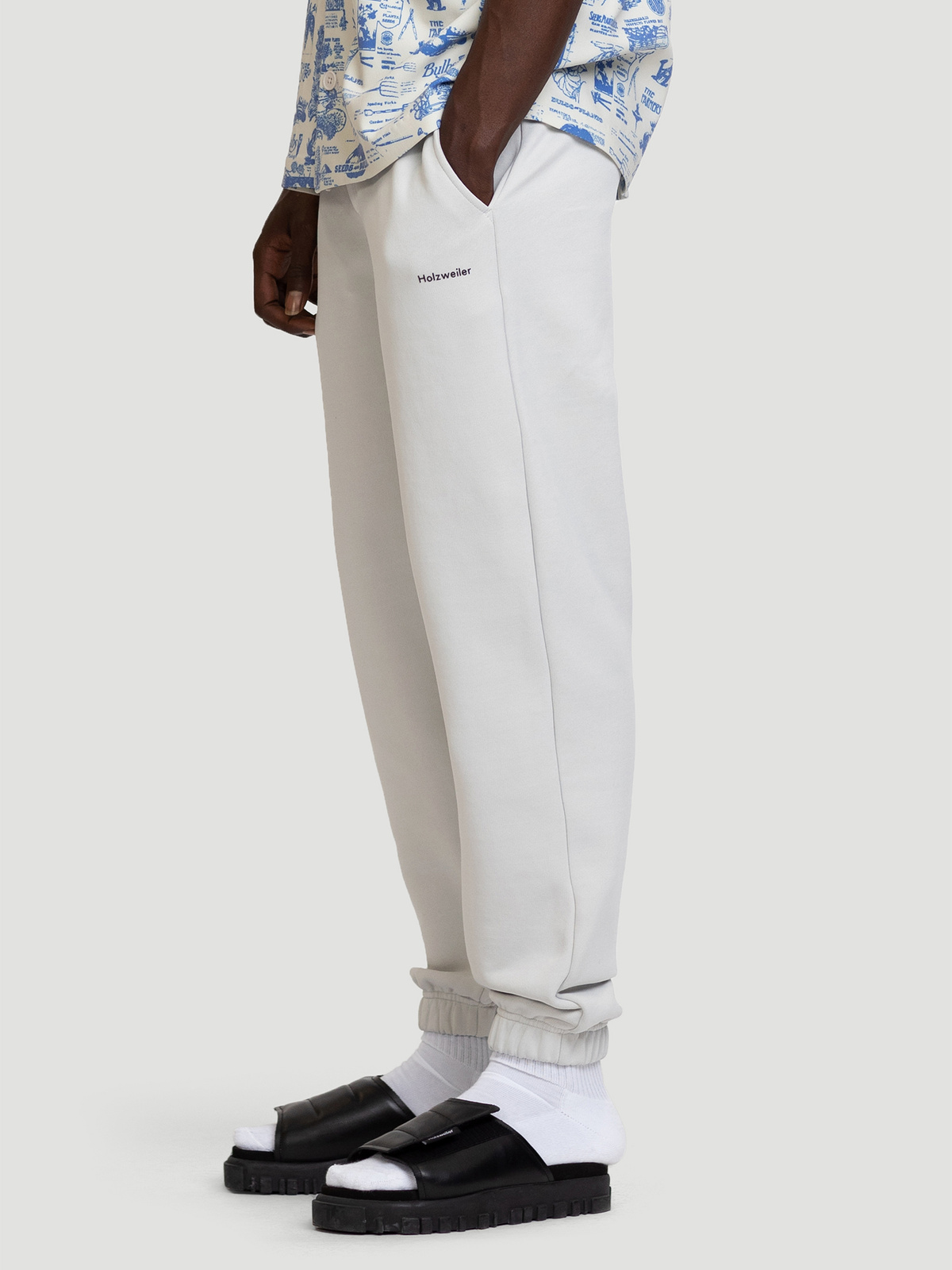 Fleaser Trouser  Lt. Grey 3