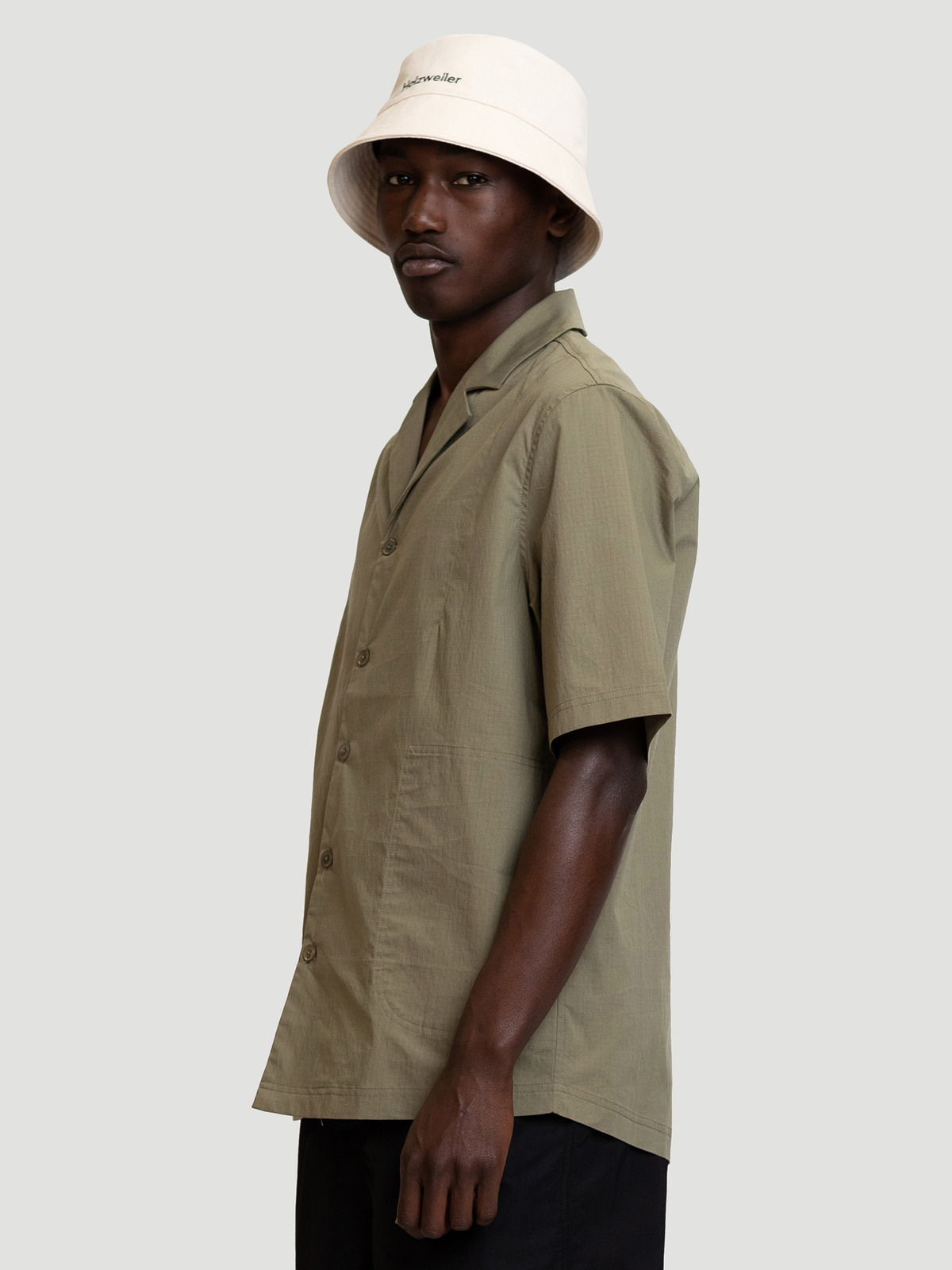 Wilas Shirt Olive Green 2