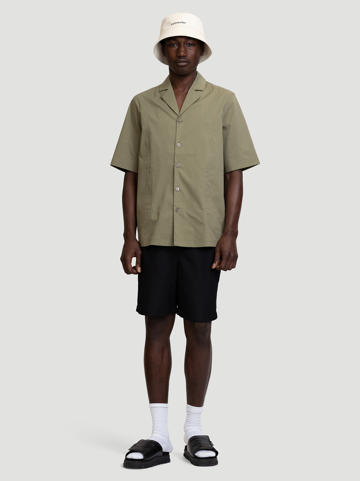 Wilas Shirt Olive Green 1