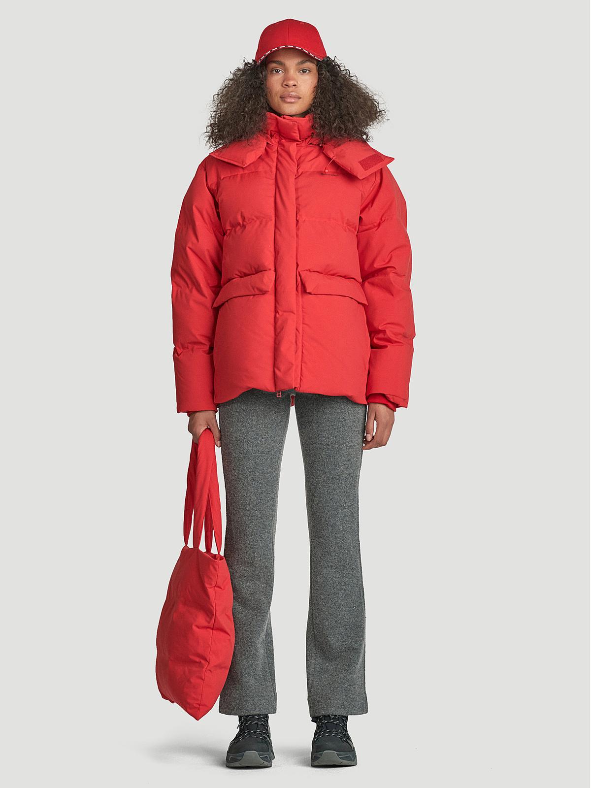 Besseggen Down Jacket  Red 0