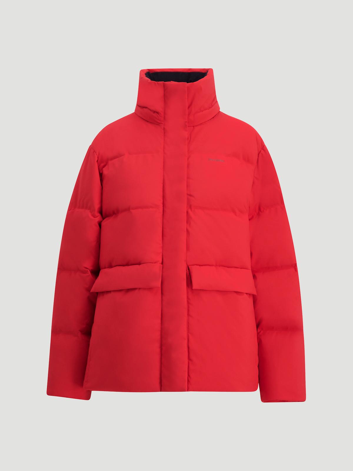 Besseggen Down Jacket  Red 4