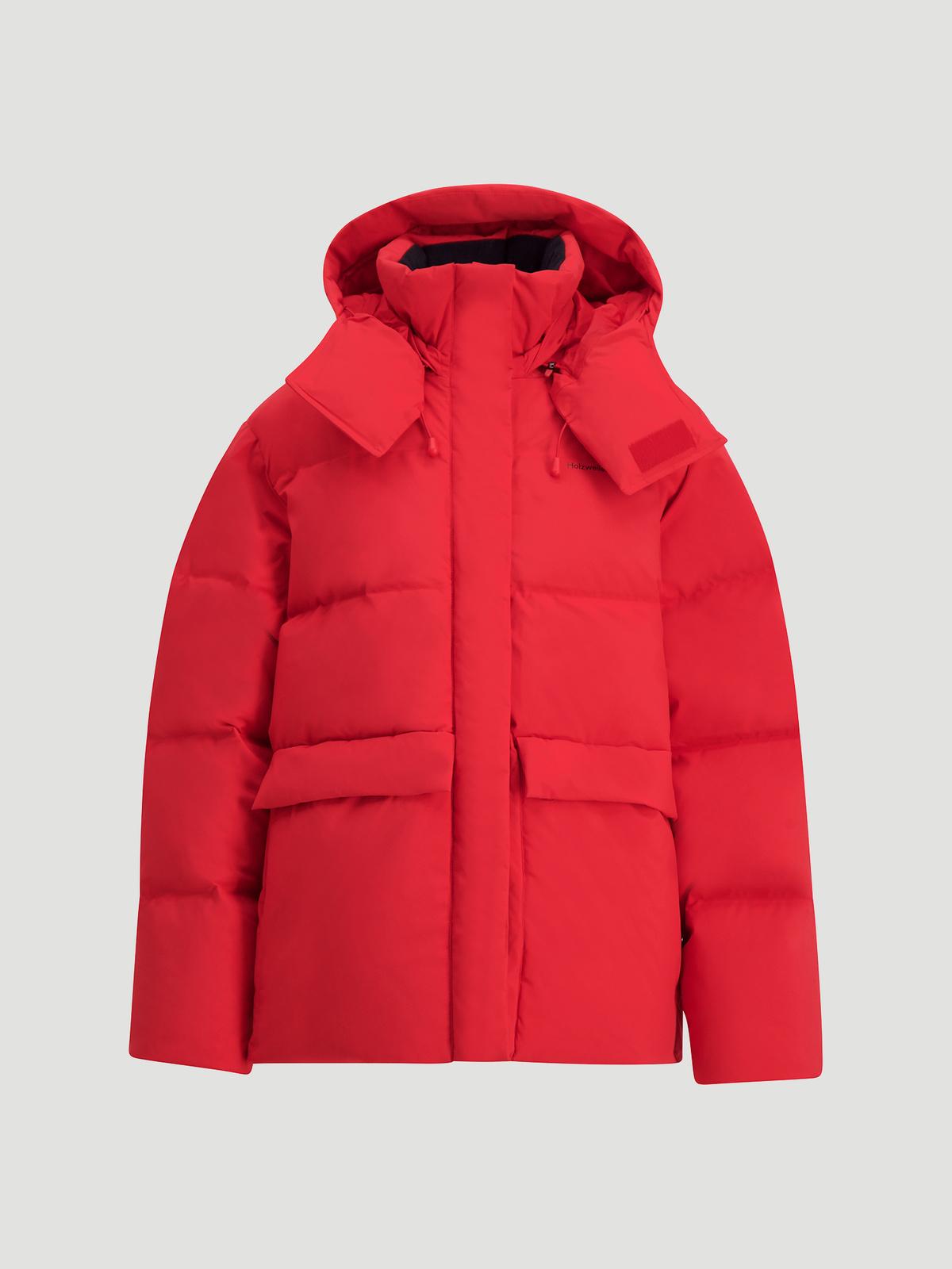 Besseggen Down Jacket  Red 7