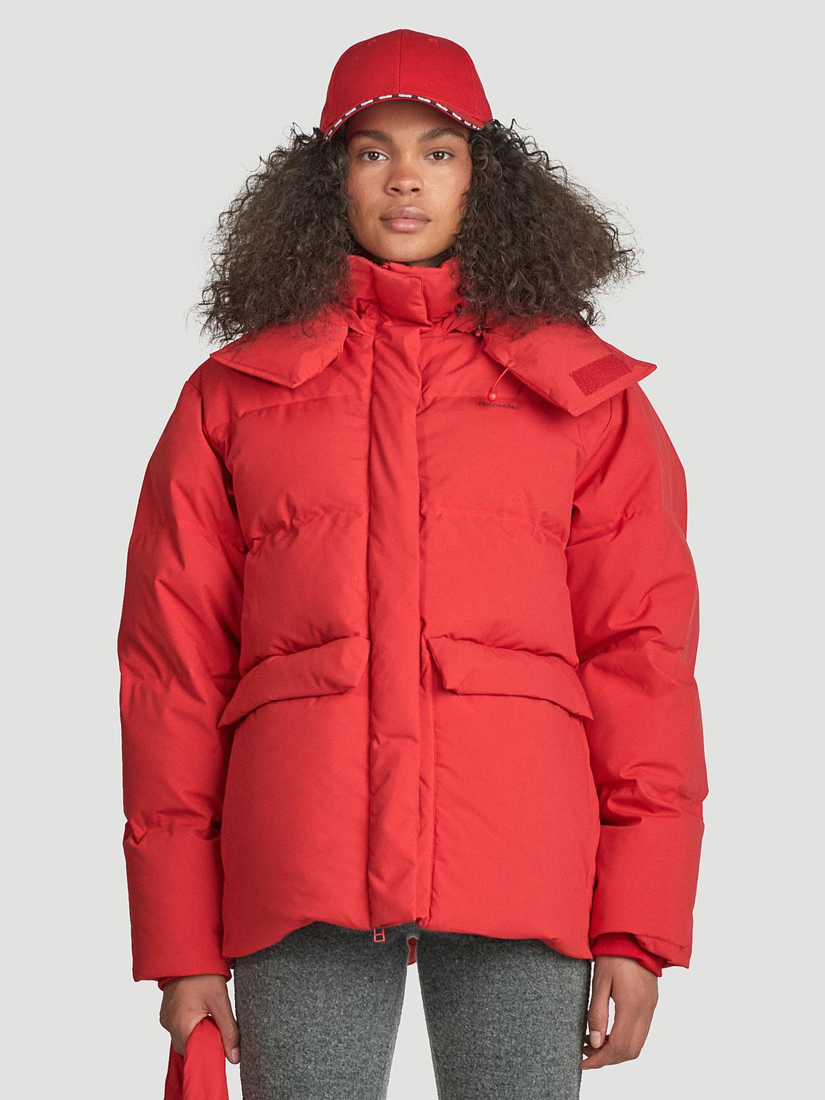 Besseggen Down Jacket  Red 1