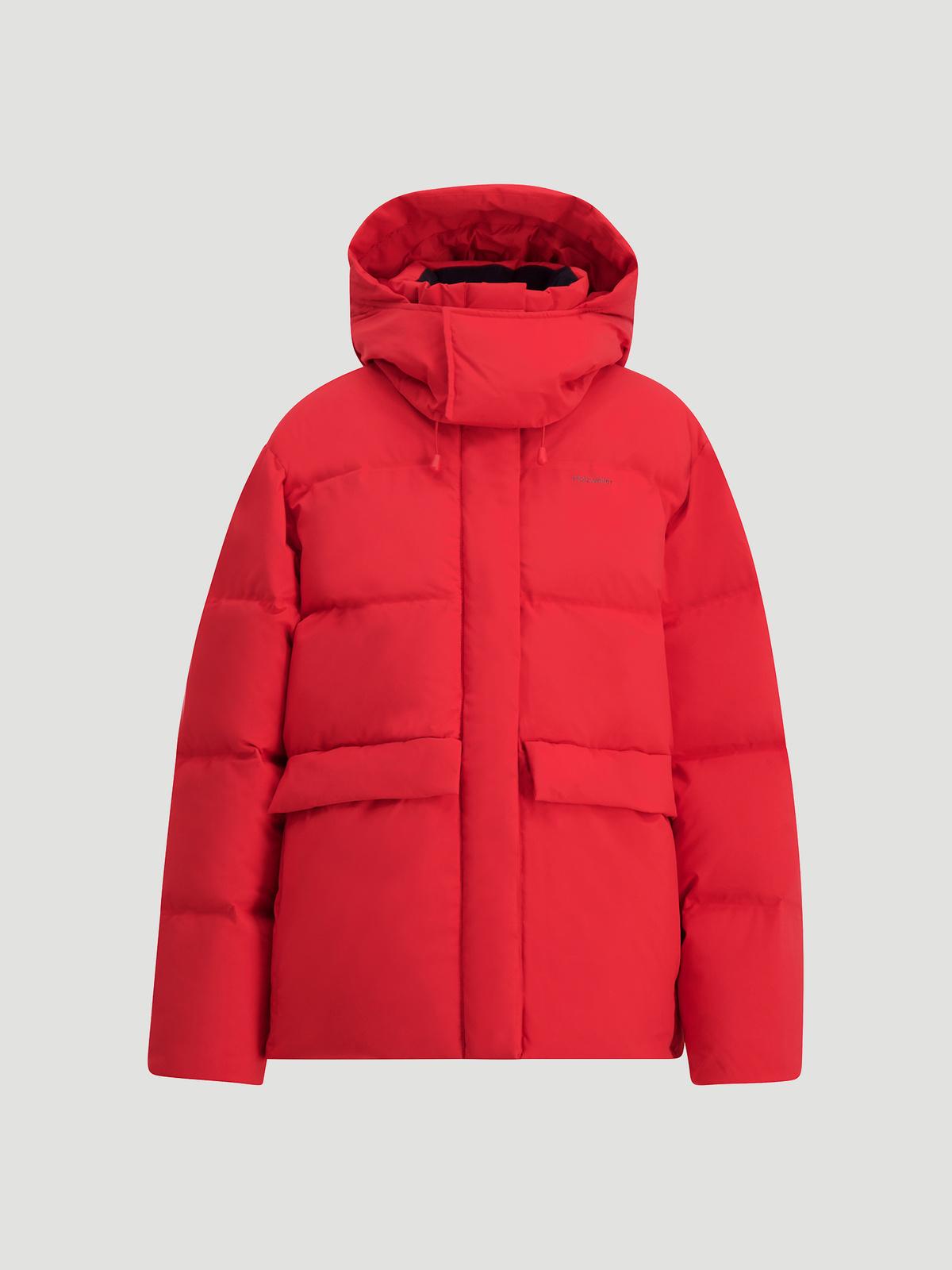 Besseggen Down Jacket  Red 6