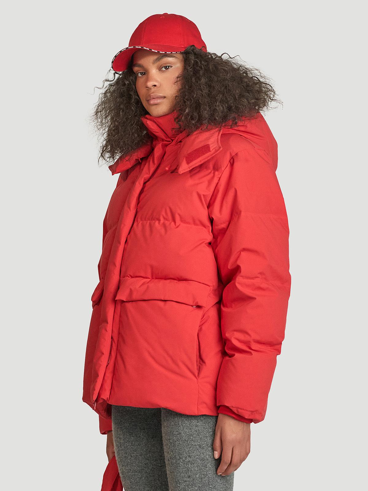 Besseggen Down Jacket  Red 2