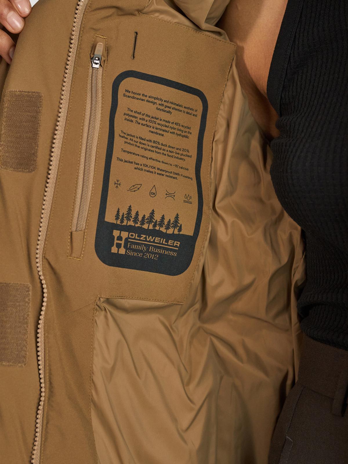 Loen Down Jacket  Lt. Brown 5