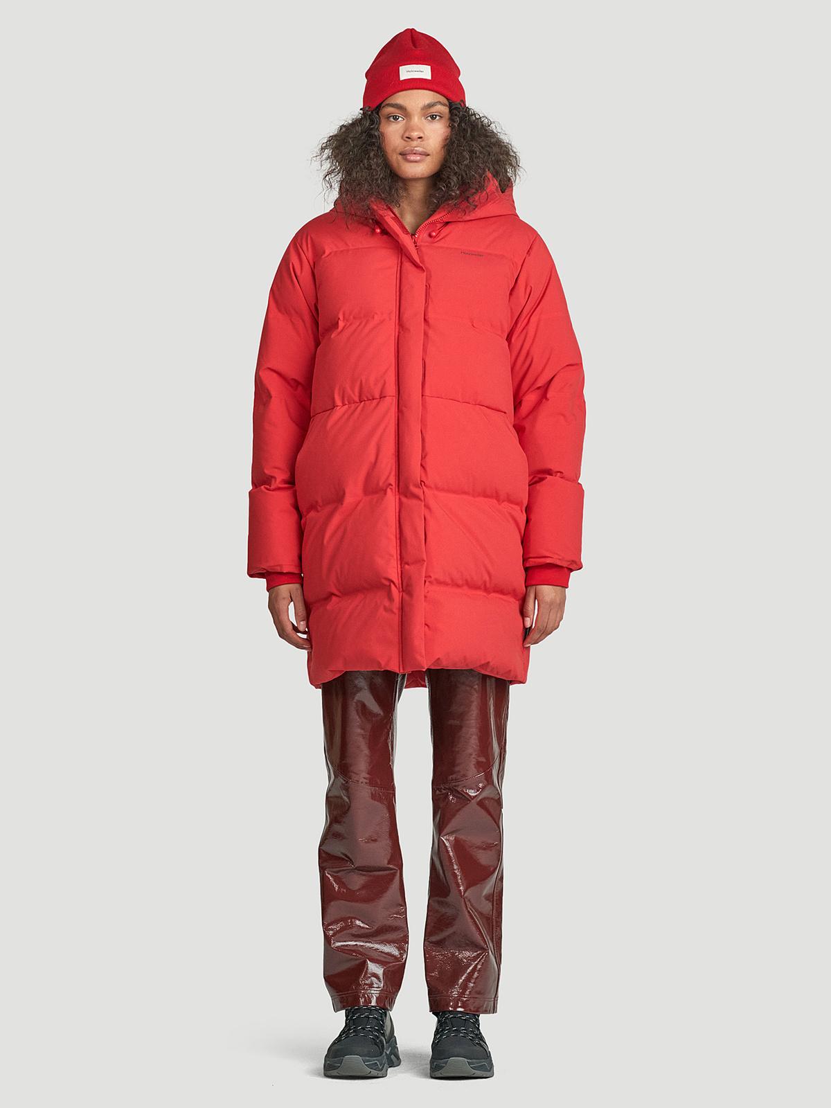 Loen Down Jacket  Red 4