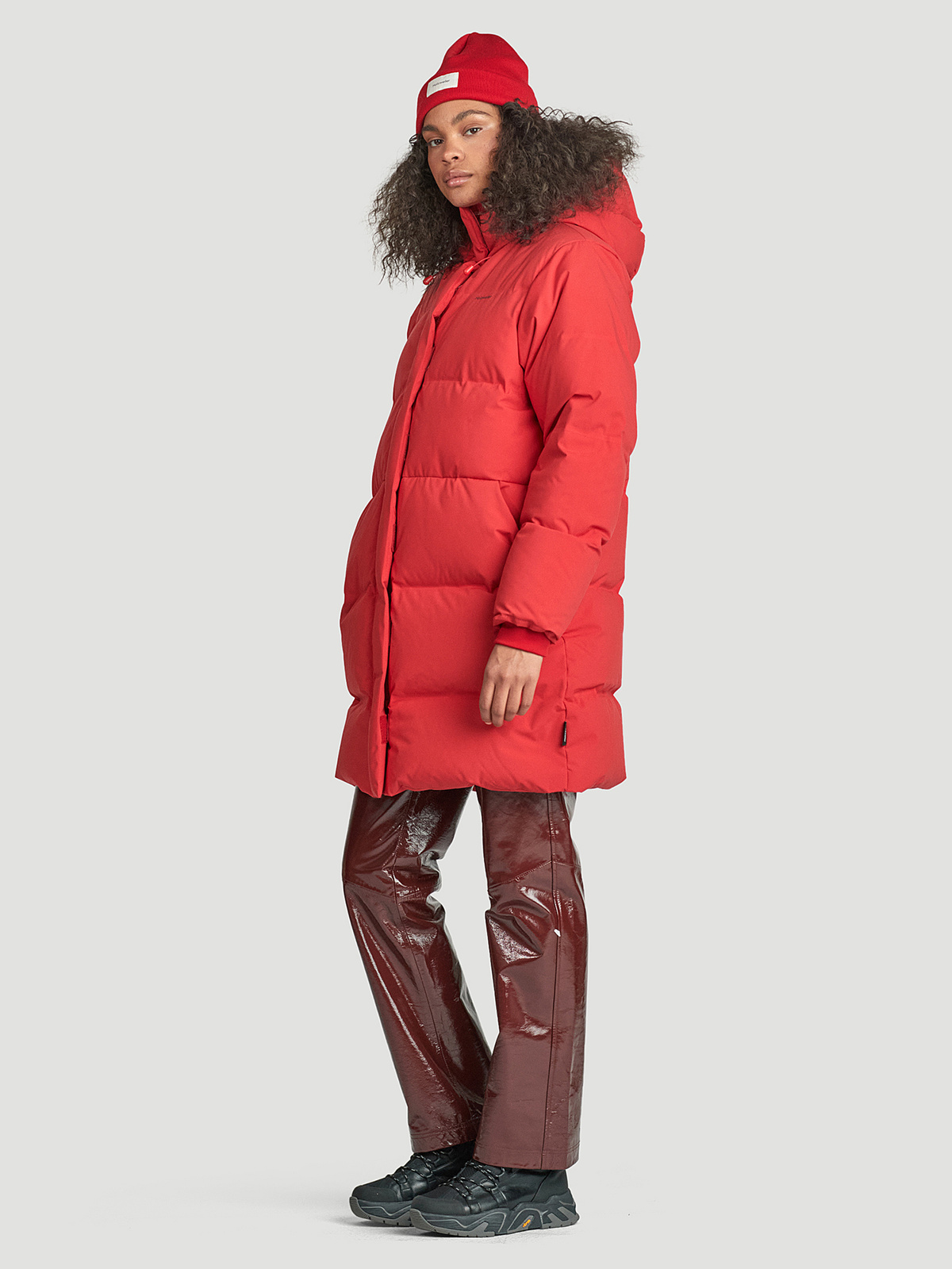 Loen Down Jacket  Red 2