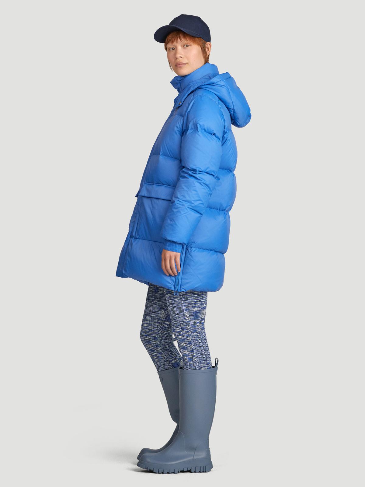 Sol Down Jacket  Blue 3