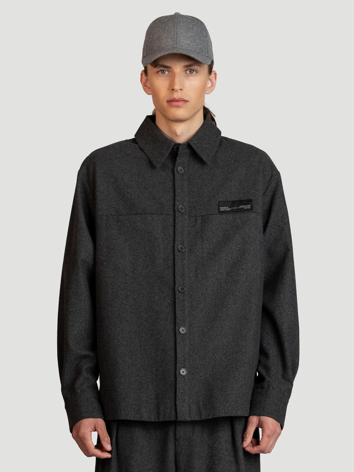 Seju Shirt  Dk. Grey 0