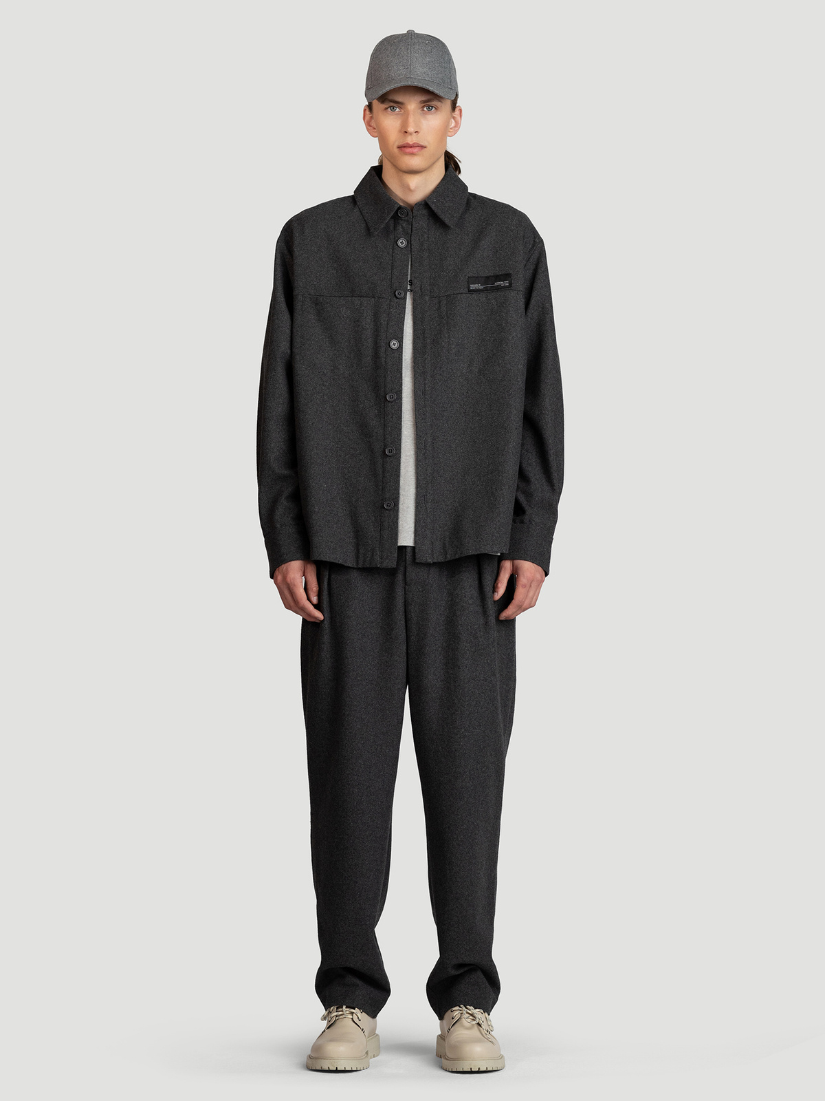 Seju Shirt  Dk. Grey 2