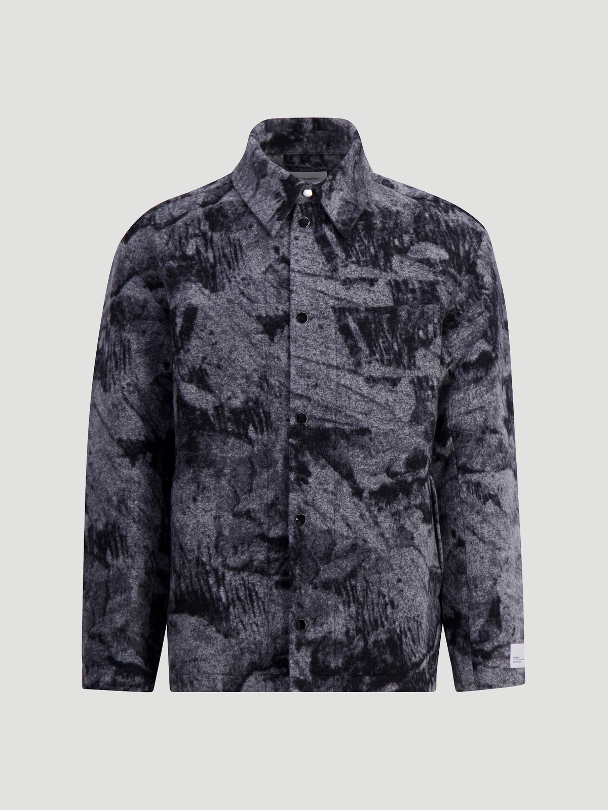 Mila Shirt Jacket  Grey Mix 5