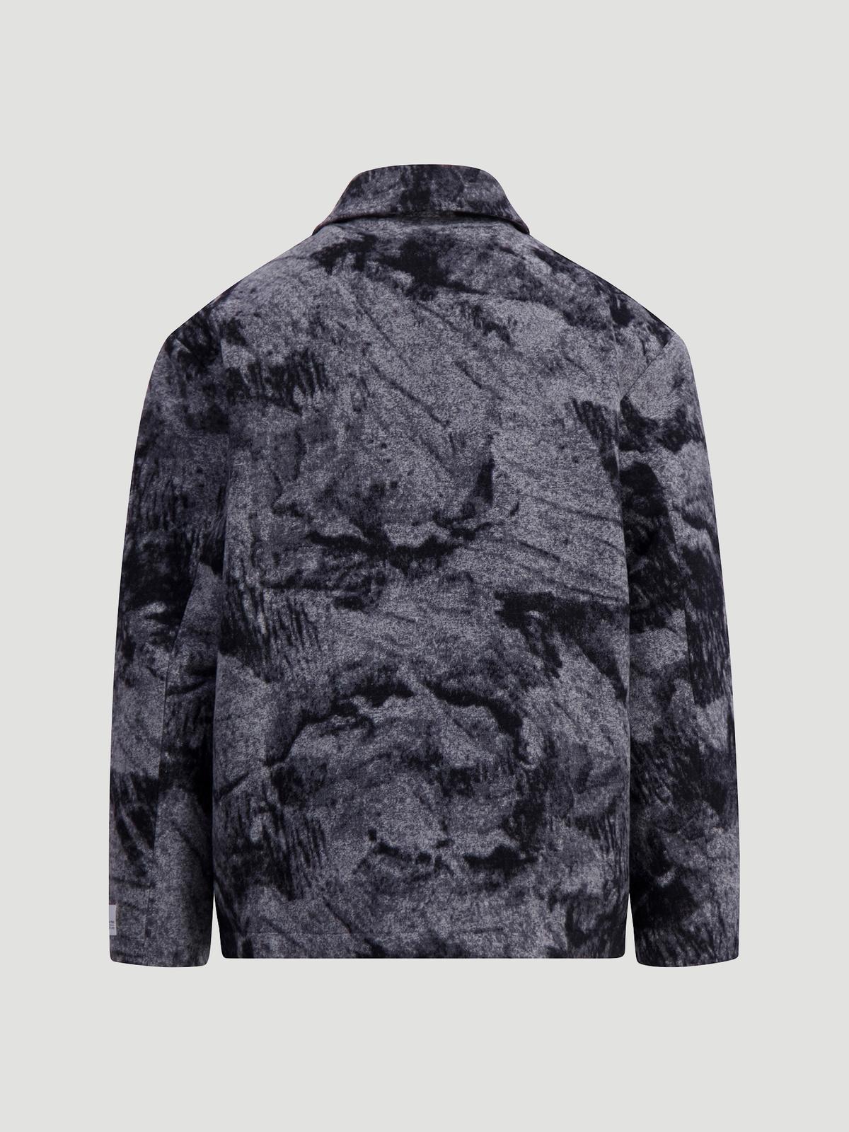 Mila Shirt Jacket  Grey Mix 6
