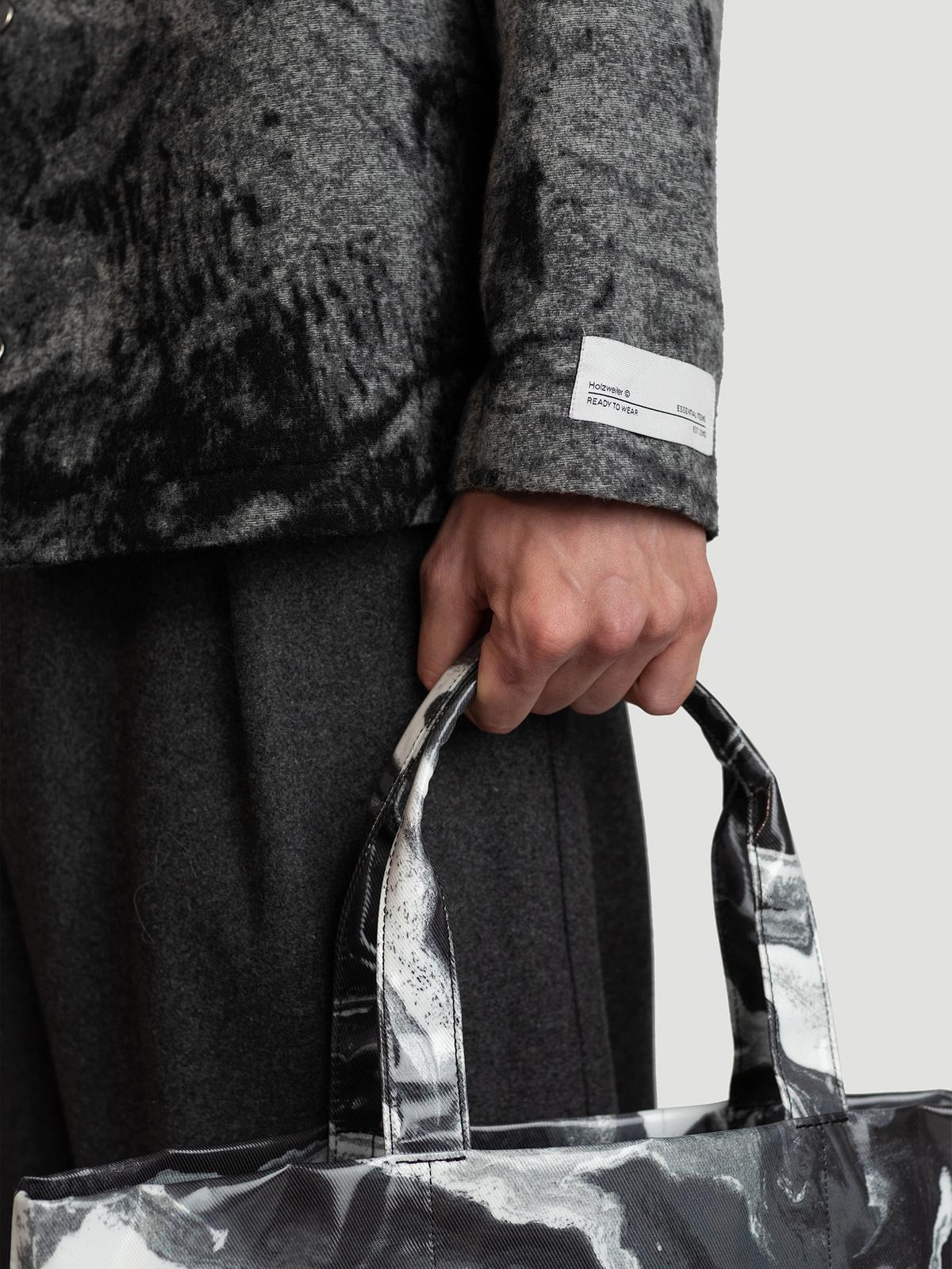 Mila Shirt Jacket  Grey Mix 2