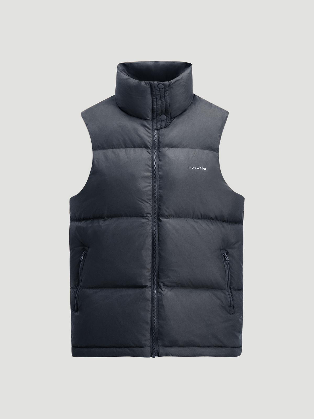 Ail Unisex Down Vest  Black 8