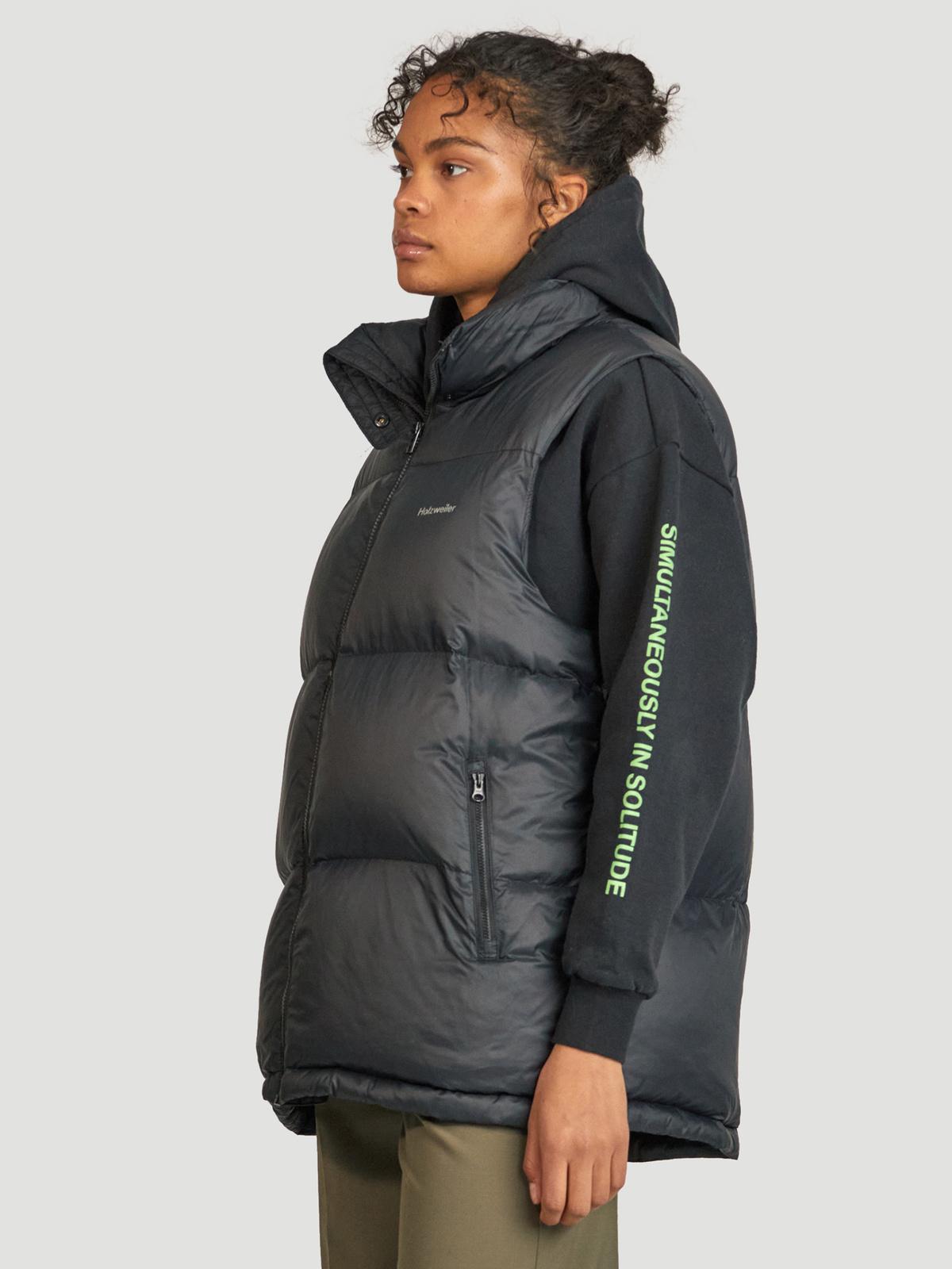 Ail Unisex Down Vest  Black 5