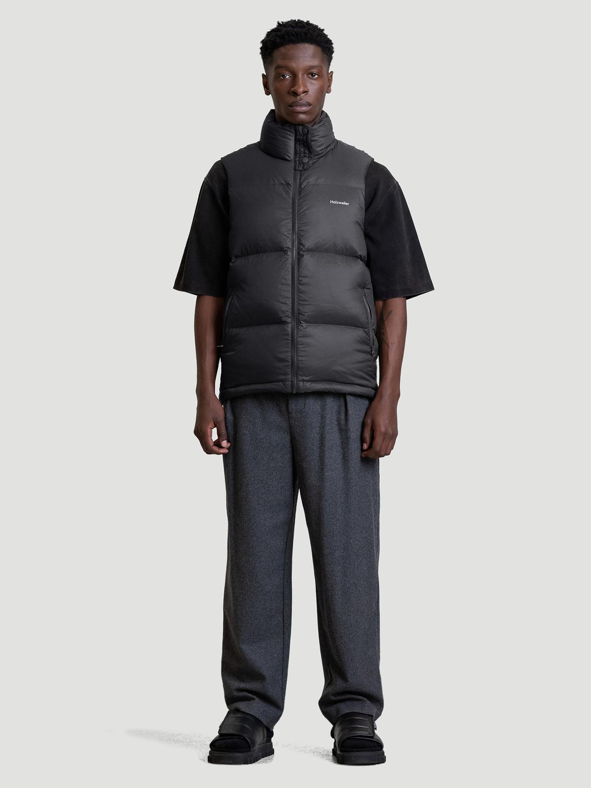 Ail Unisex Down Vest  Black 4